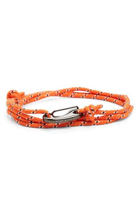 Men S Bracelets Leather Beaded Stretch Amp More Nordstrom