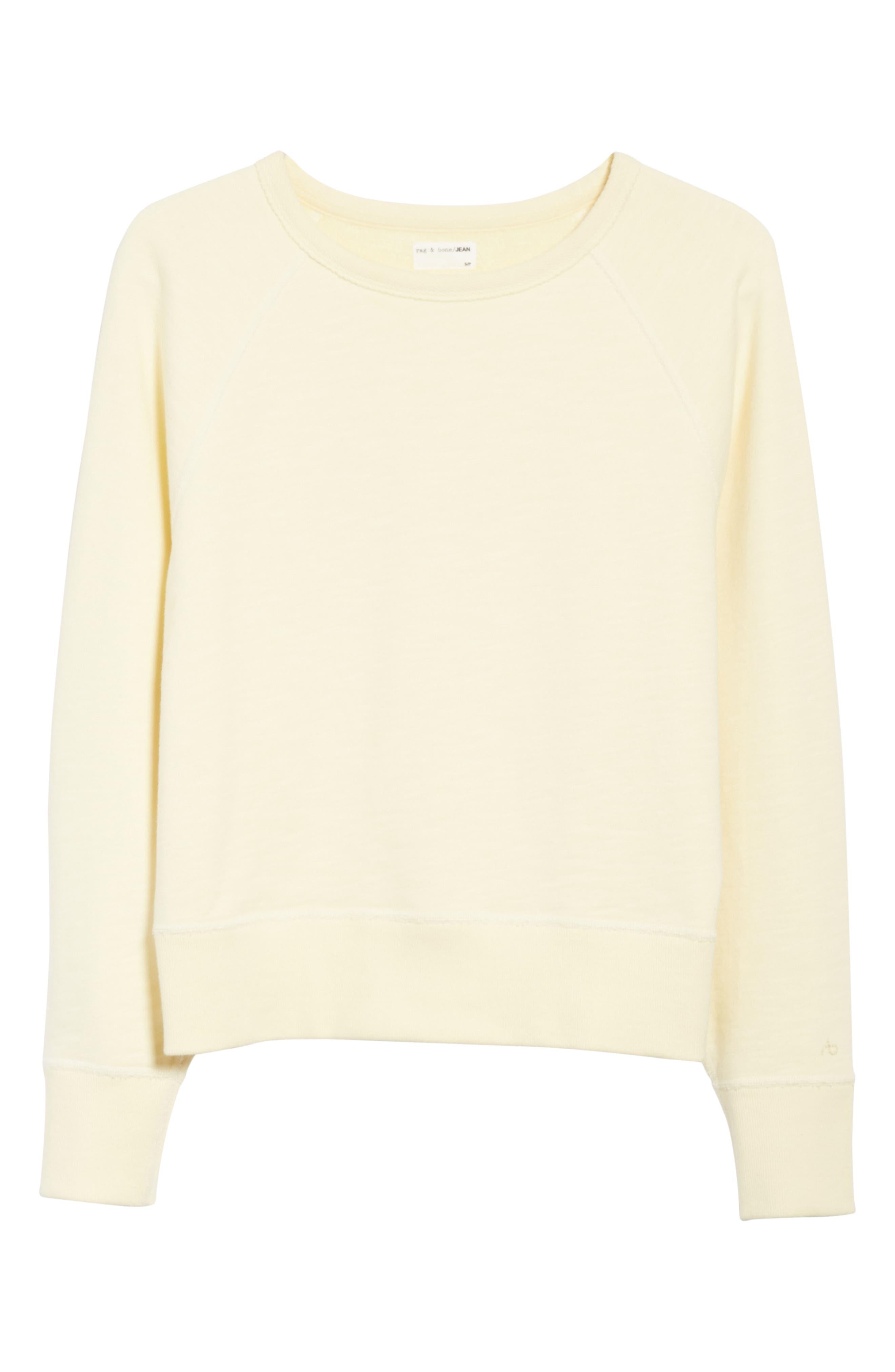 Alternate Image 6  - rag & bone/JEAN The Raglan Sweatshirt
