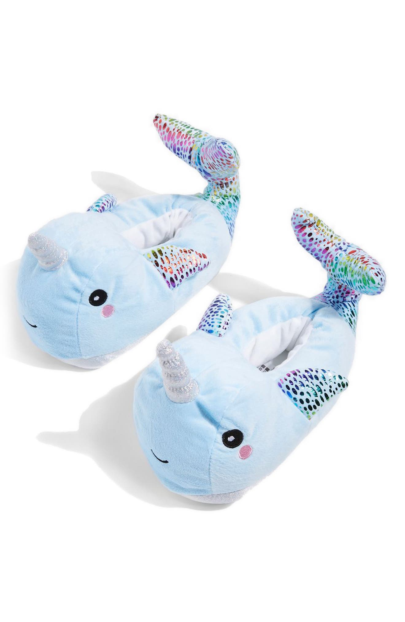 Topshop Buddy Narwhal Slippers