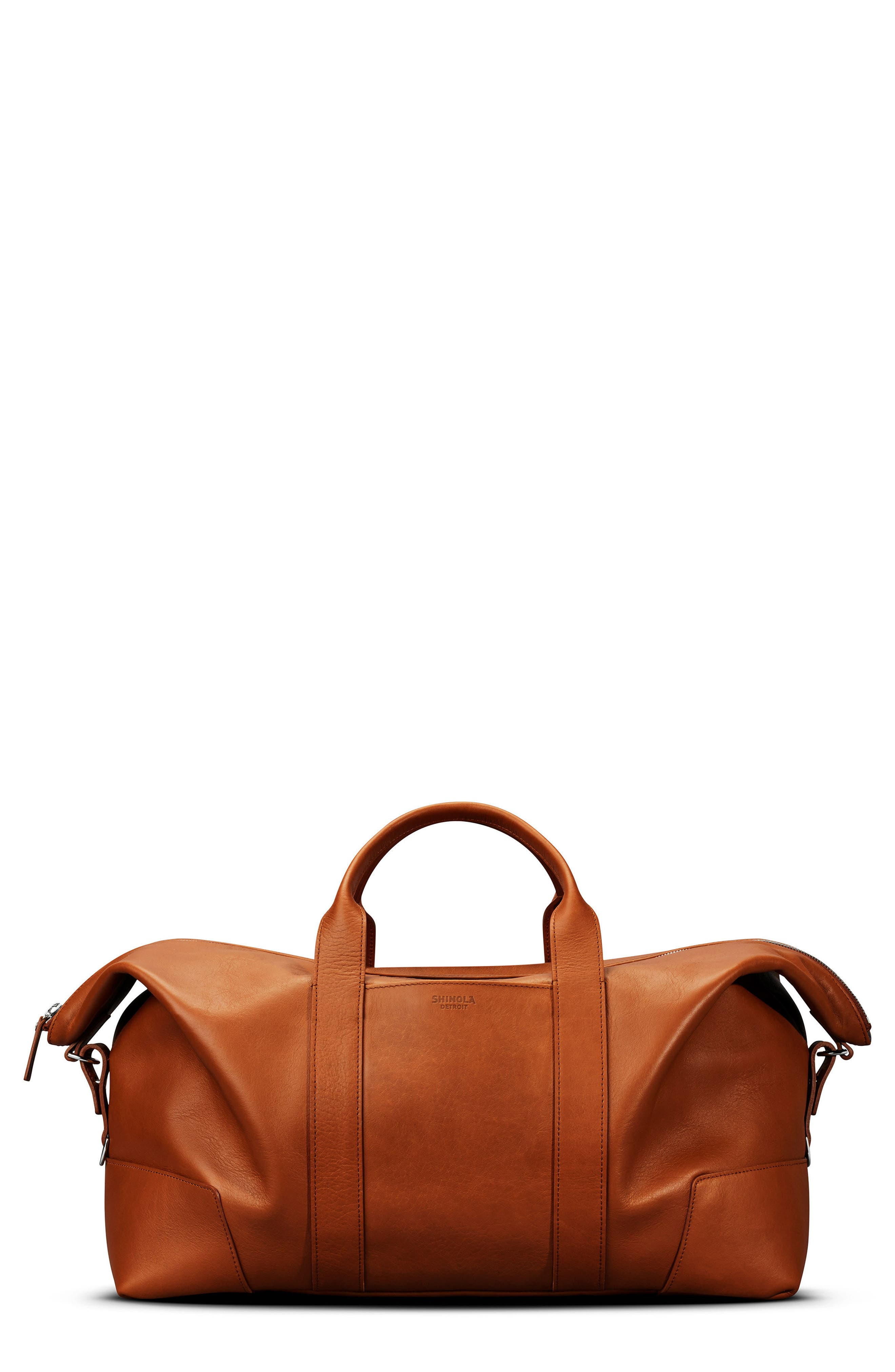 Alternate Image 1 Selected - Shinola Signature Leather Duffel Bag