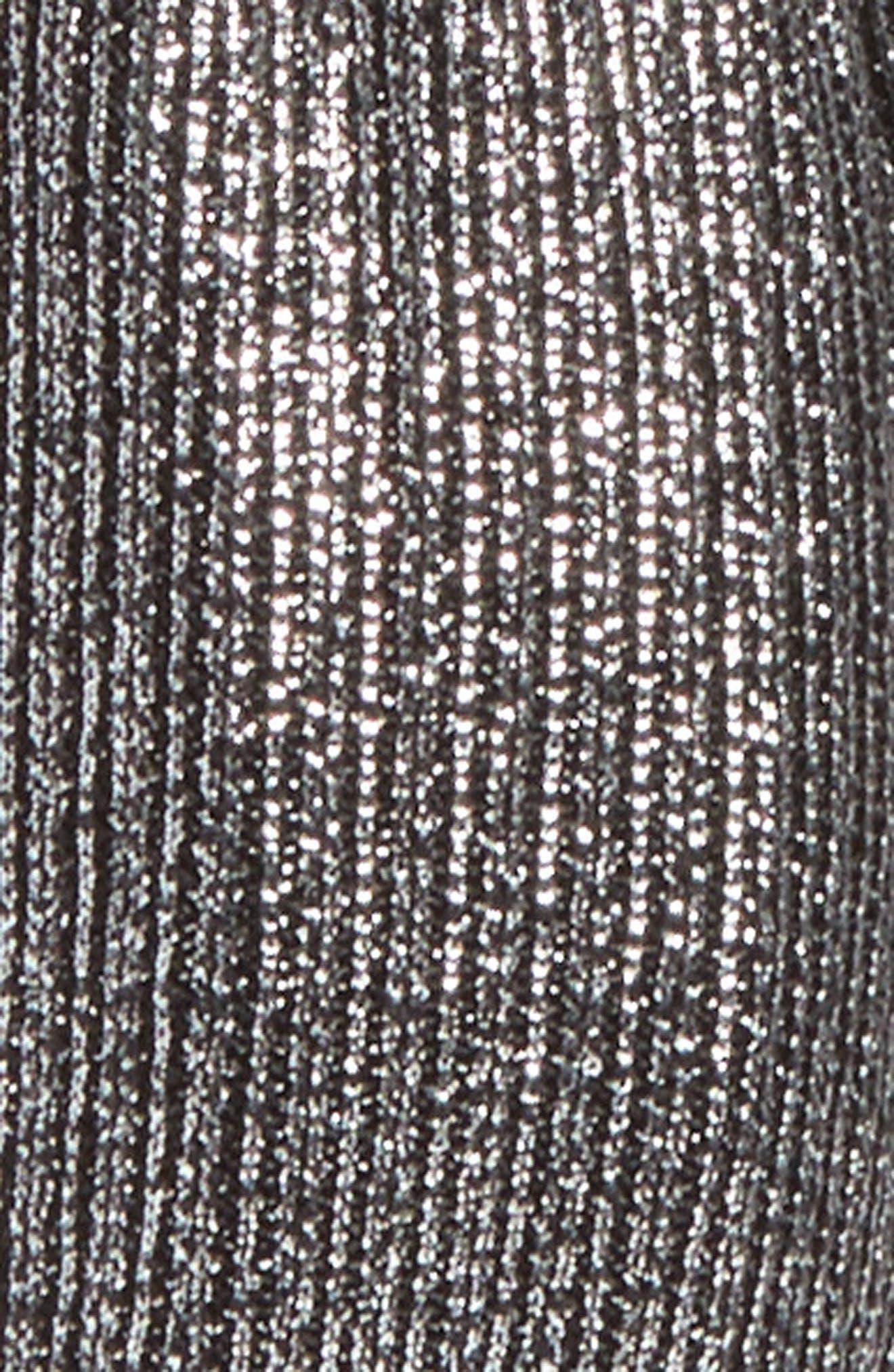 Metallic Knot Headband,                             Alternate thumbnail 2, color,                             Gunmetal
