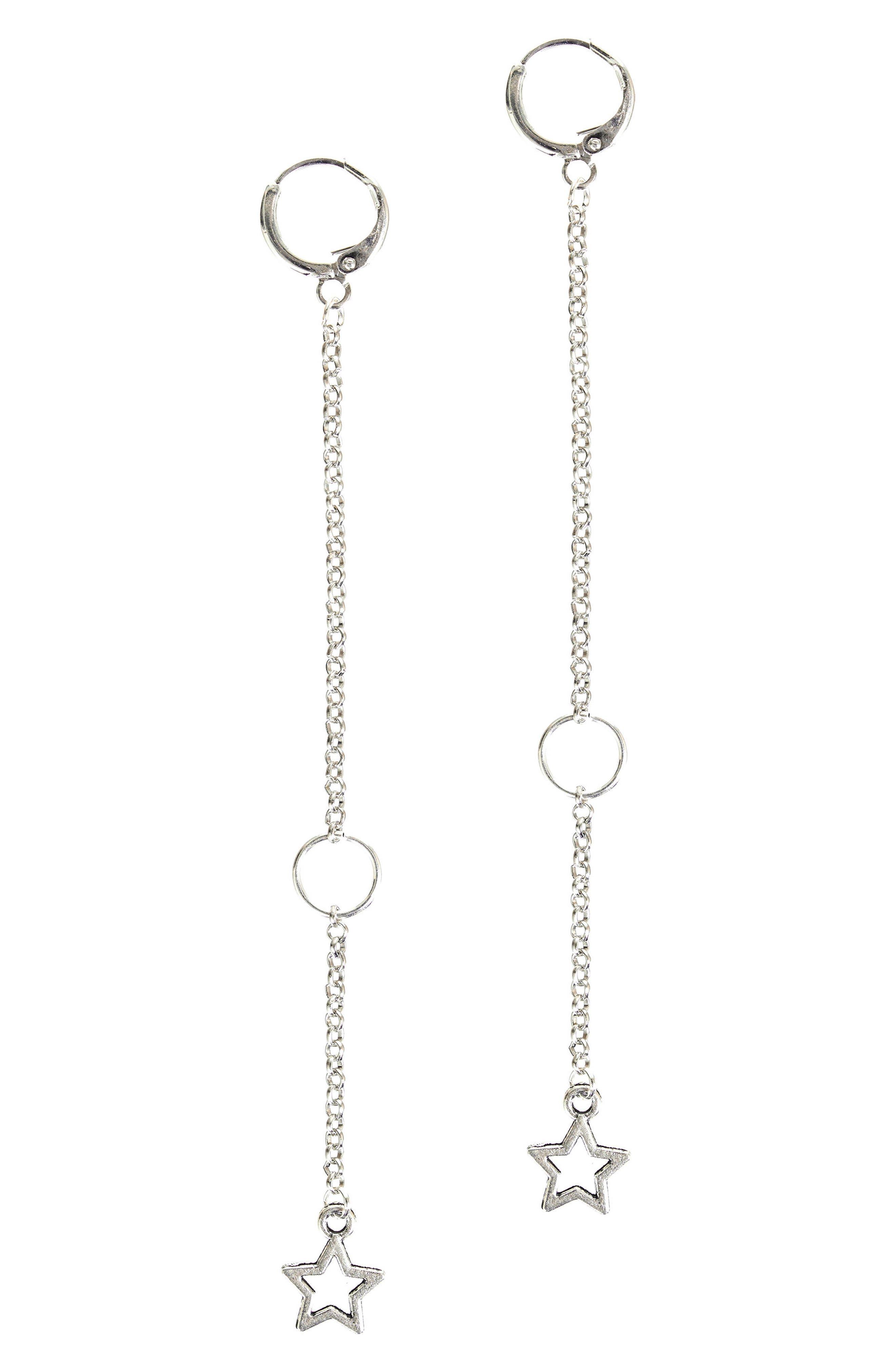 Alternate Image 1 Selected - MHART Crux Hoop Earrings