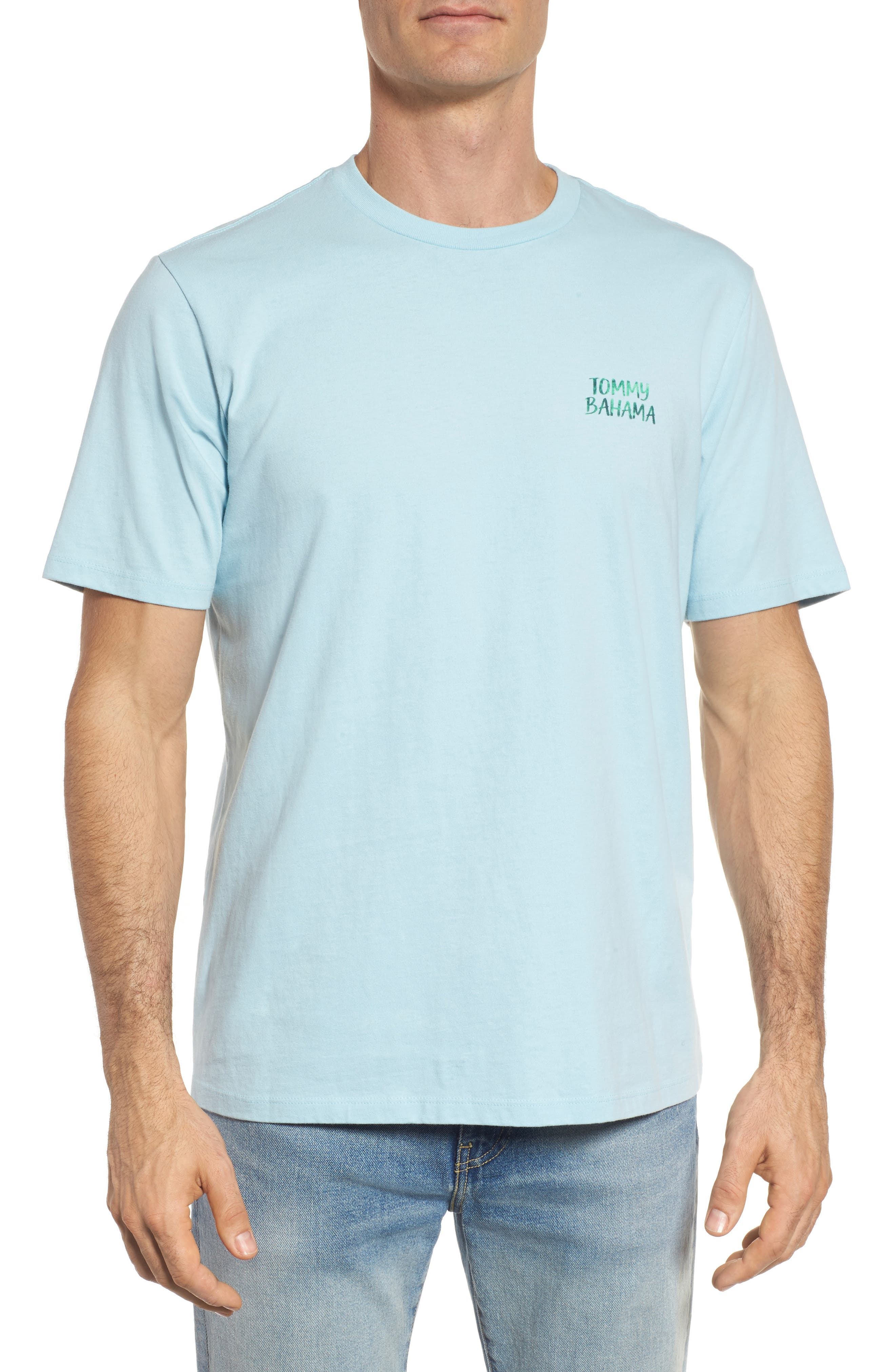 Alternate Image 2  - Tommy Bahama Barcode Graphic T-Shirt