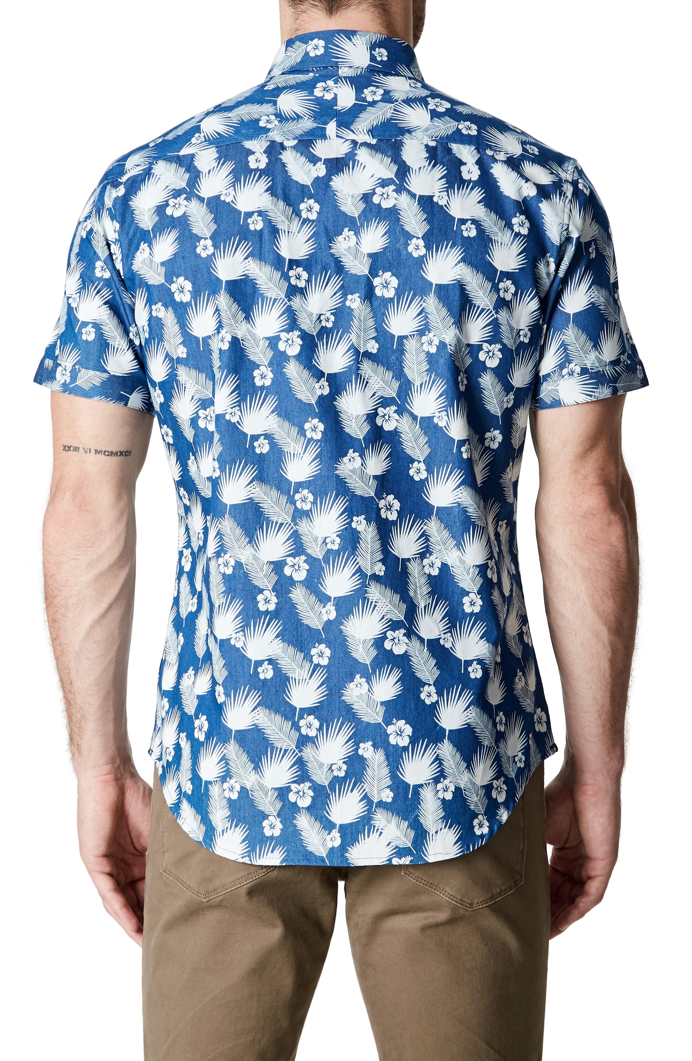Love Invincible Woven Shirt,                             Alternate thumbnail 2, color,                             Blue