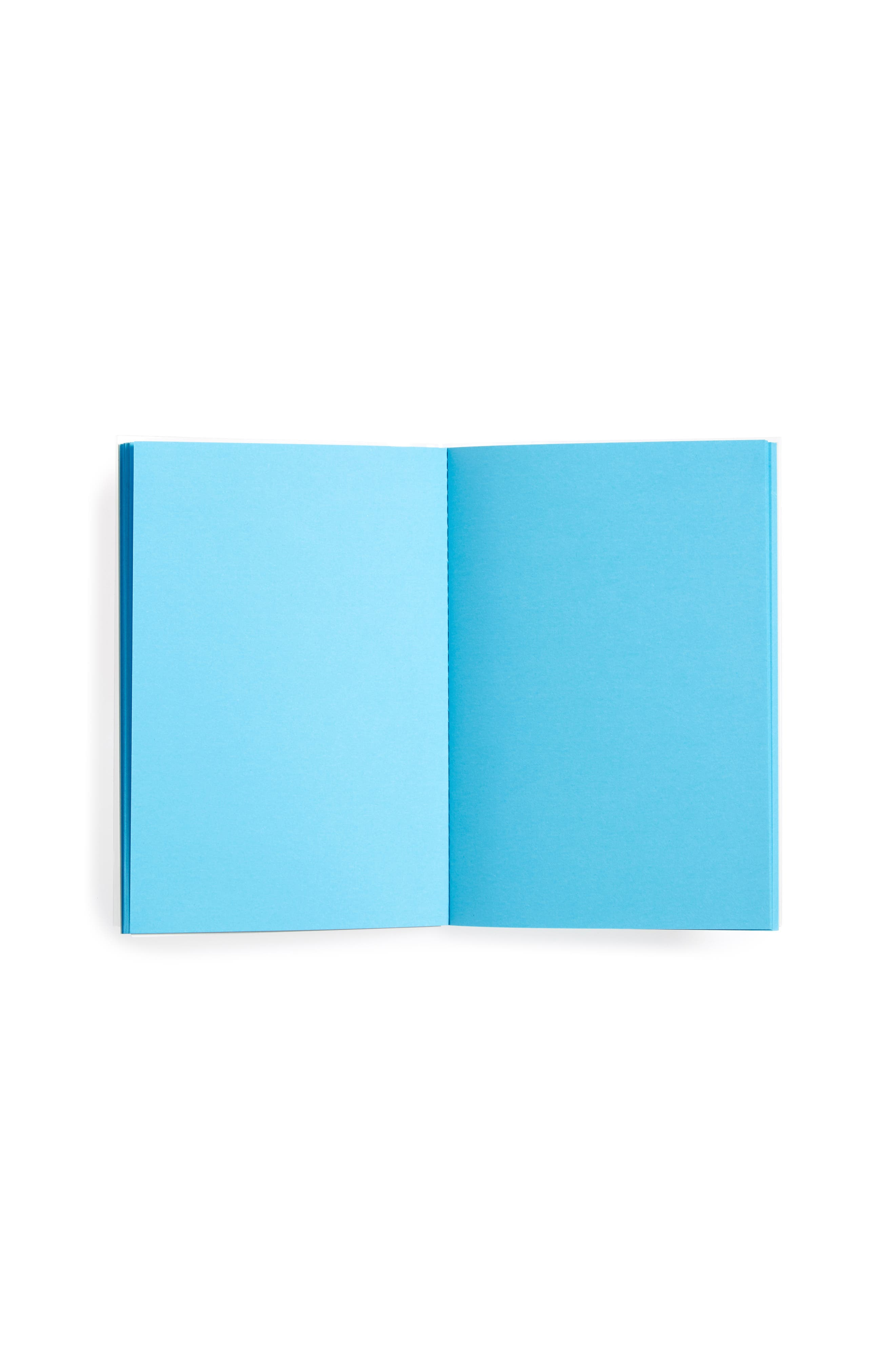 Nathalie Du Pasquier For Rubberband Small Notebook,                             Alternate thumbnail 2, color,                             Blue