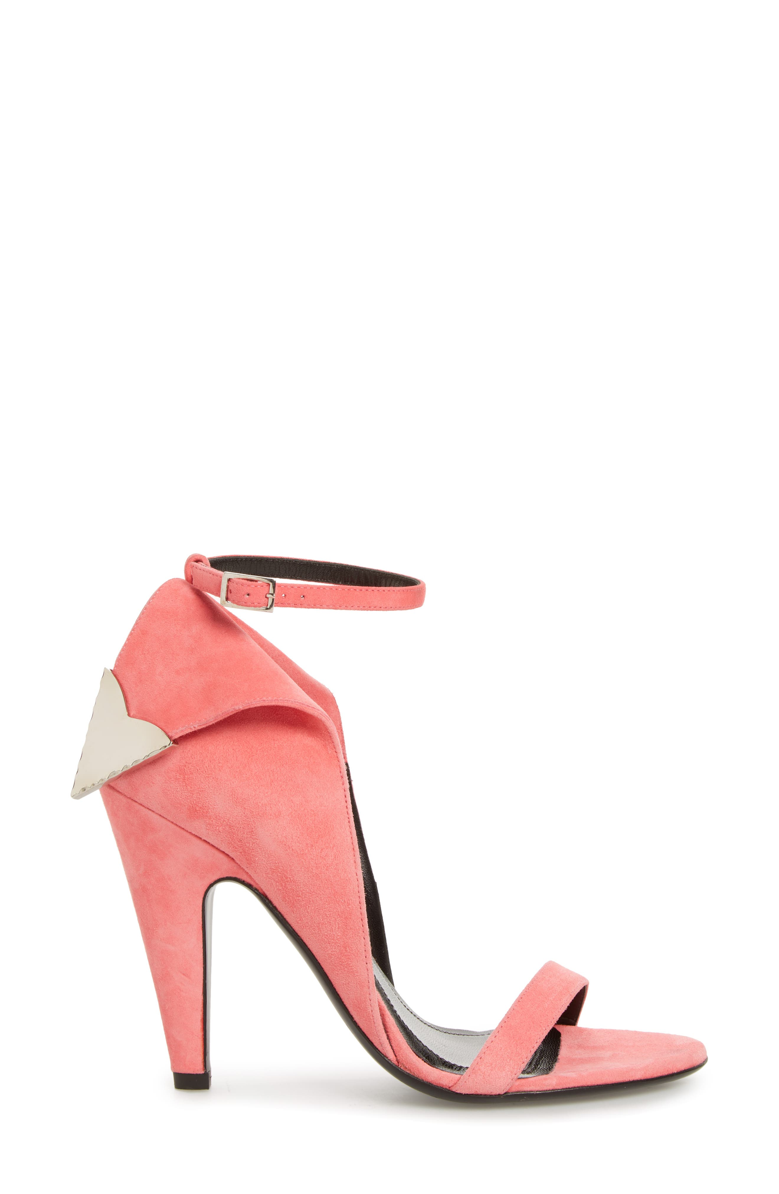 Leititia Ankle Strap Sandal,                             Alternate thumbnail 3, color,                             Blush
