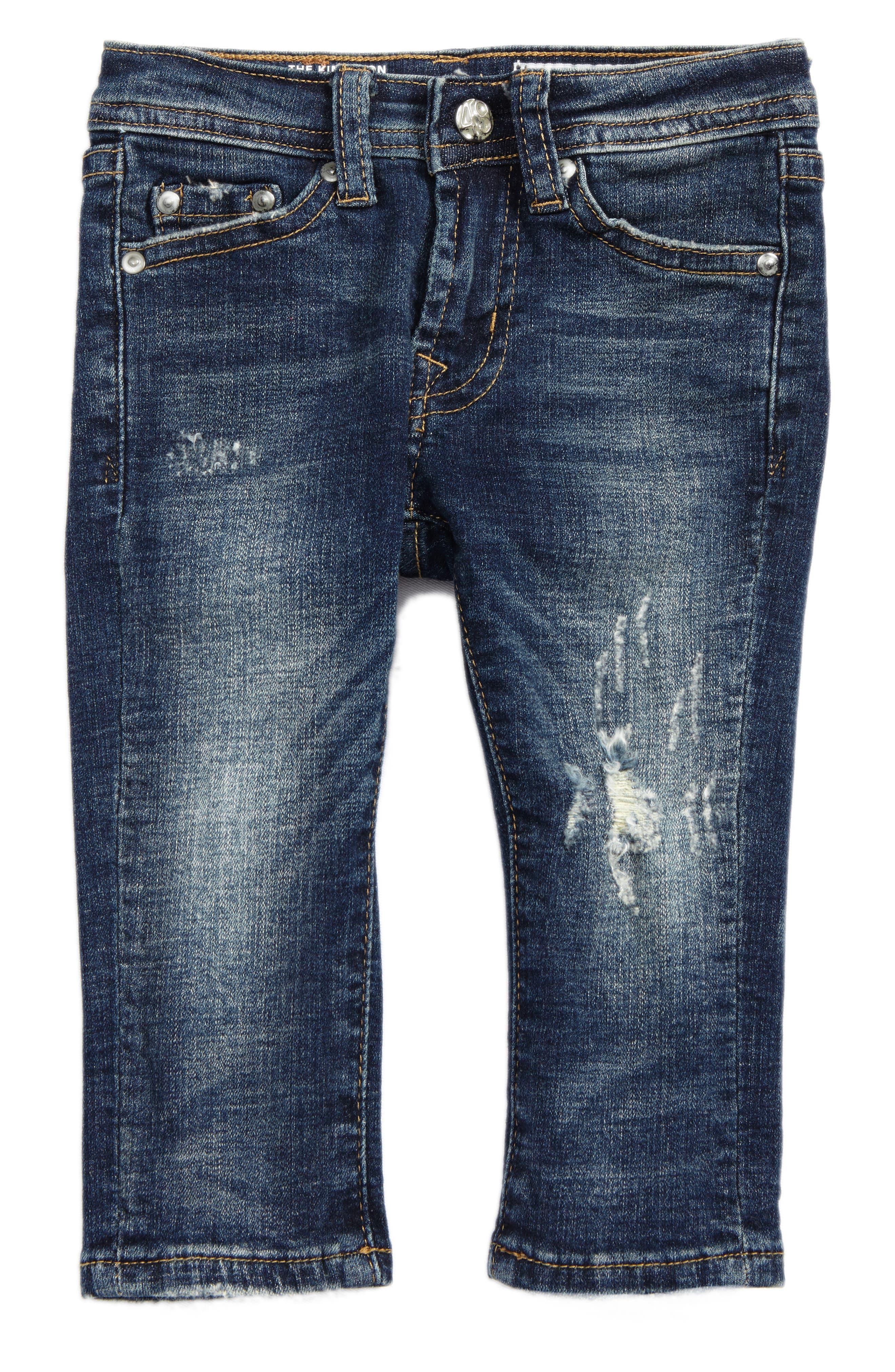 The Kingston Slim Jeans,                         Main,                         color, Engine Wash