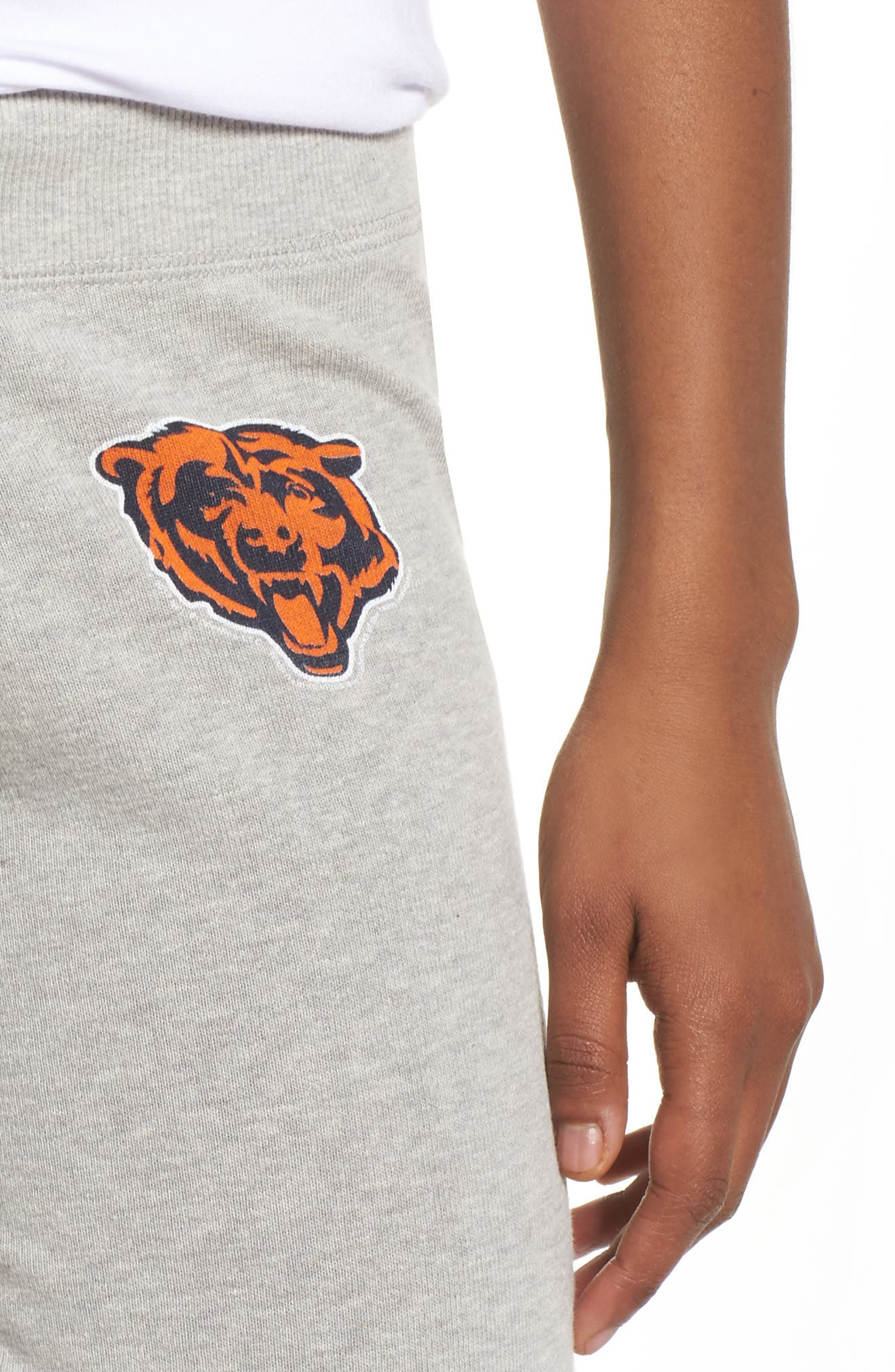 NFL Chicago Bears Hacci Sweatpants,                             Alternate thumbnail 4, color,                             Dove Heather Grey
