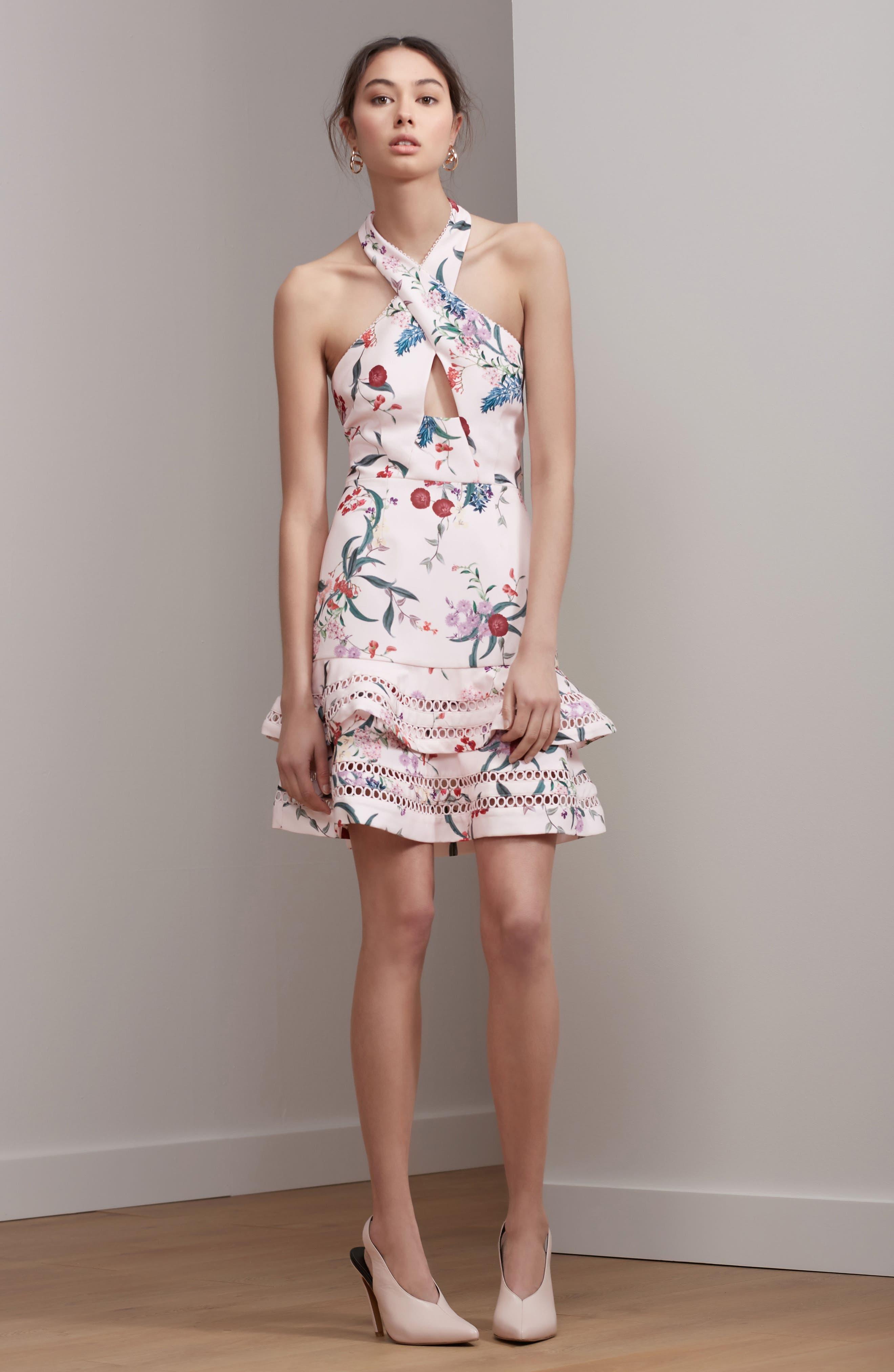 Alternate Image 2  - Keepsake the Label Indulge Halter A-Line Dress
