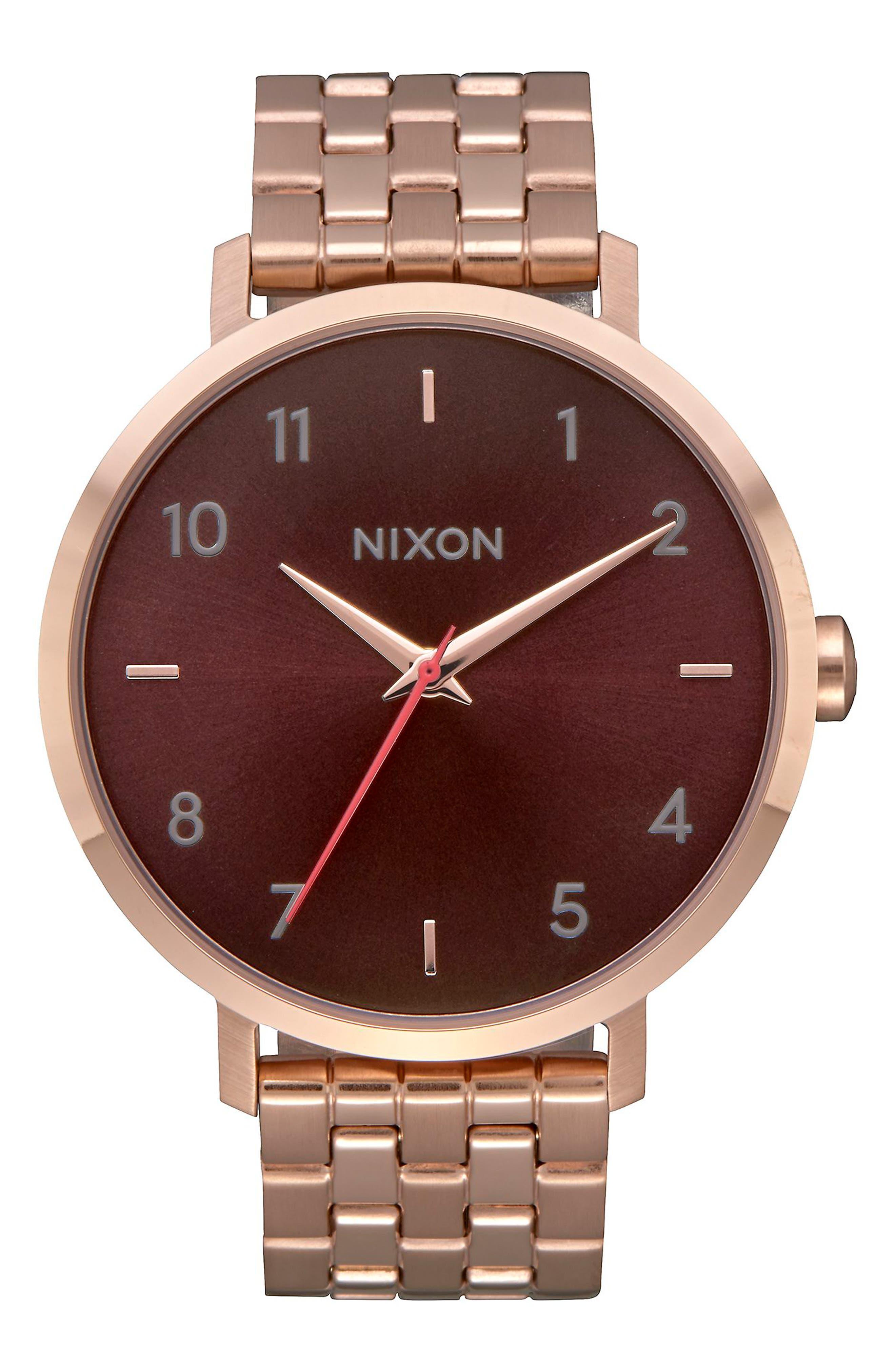 Main Image - Nixon The Arrow Bracelet Watch, 38mm