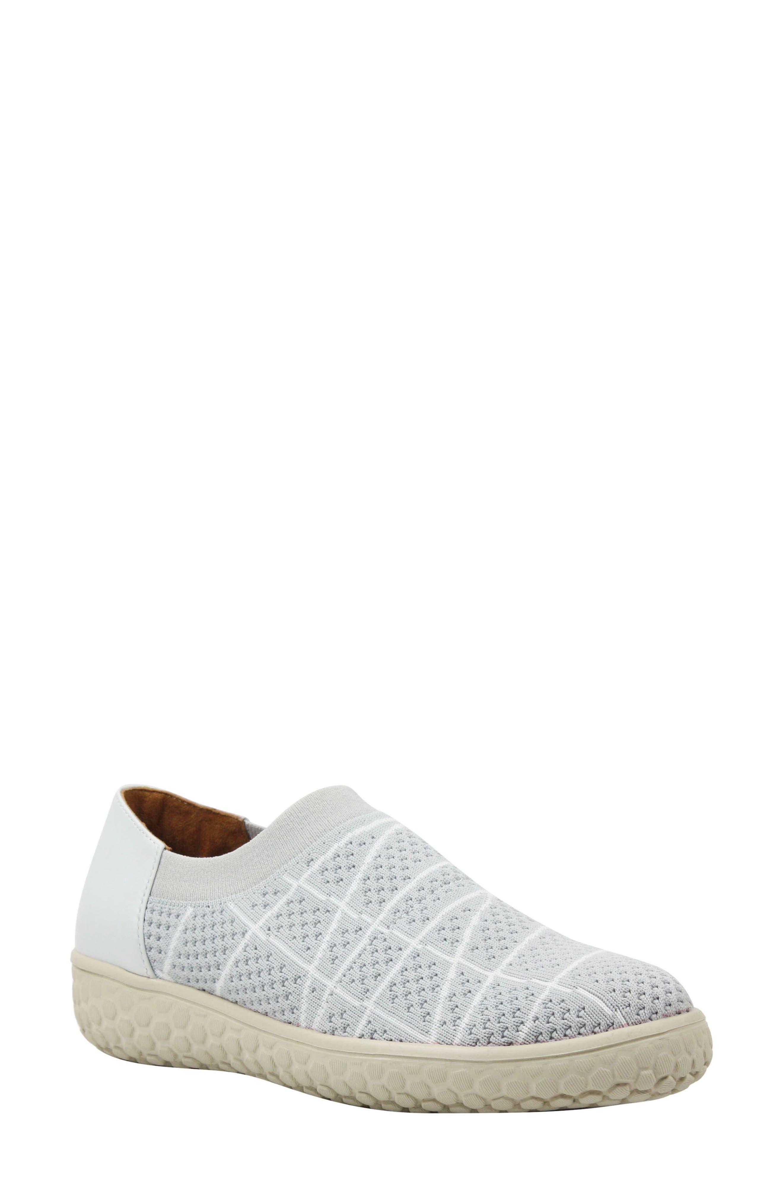 Zohndra Slip-On Sneaker,                             Main thumbnail 1, color,                             Beige Fabric
