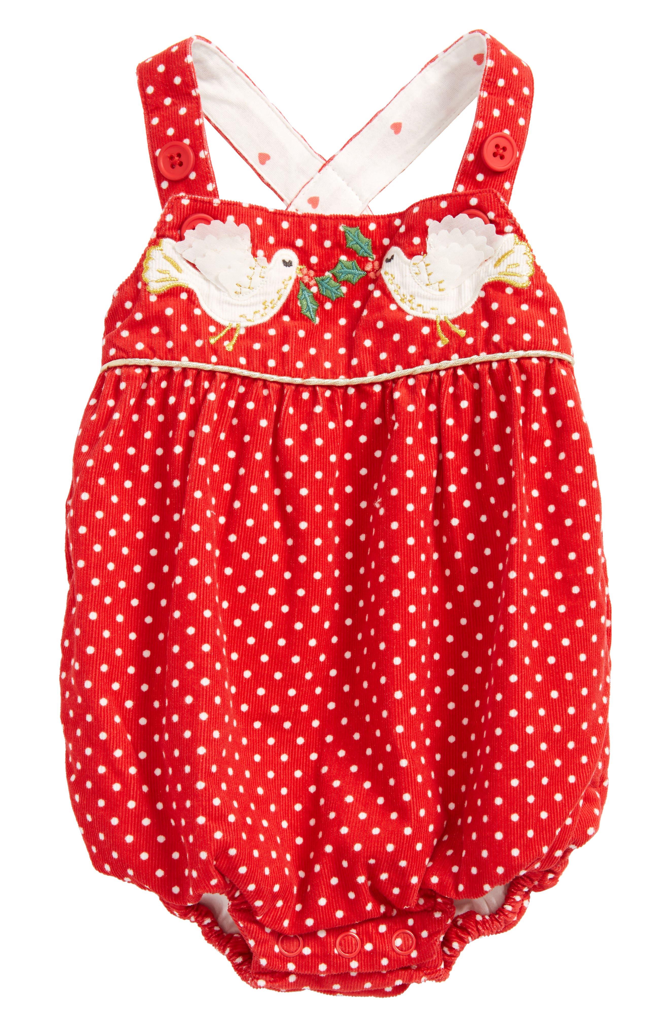 Mini Boden Classic Corduroy Bodysuit (Baby Girls)