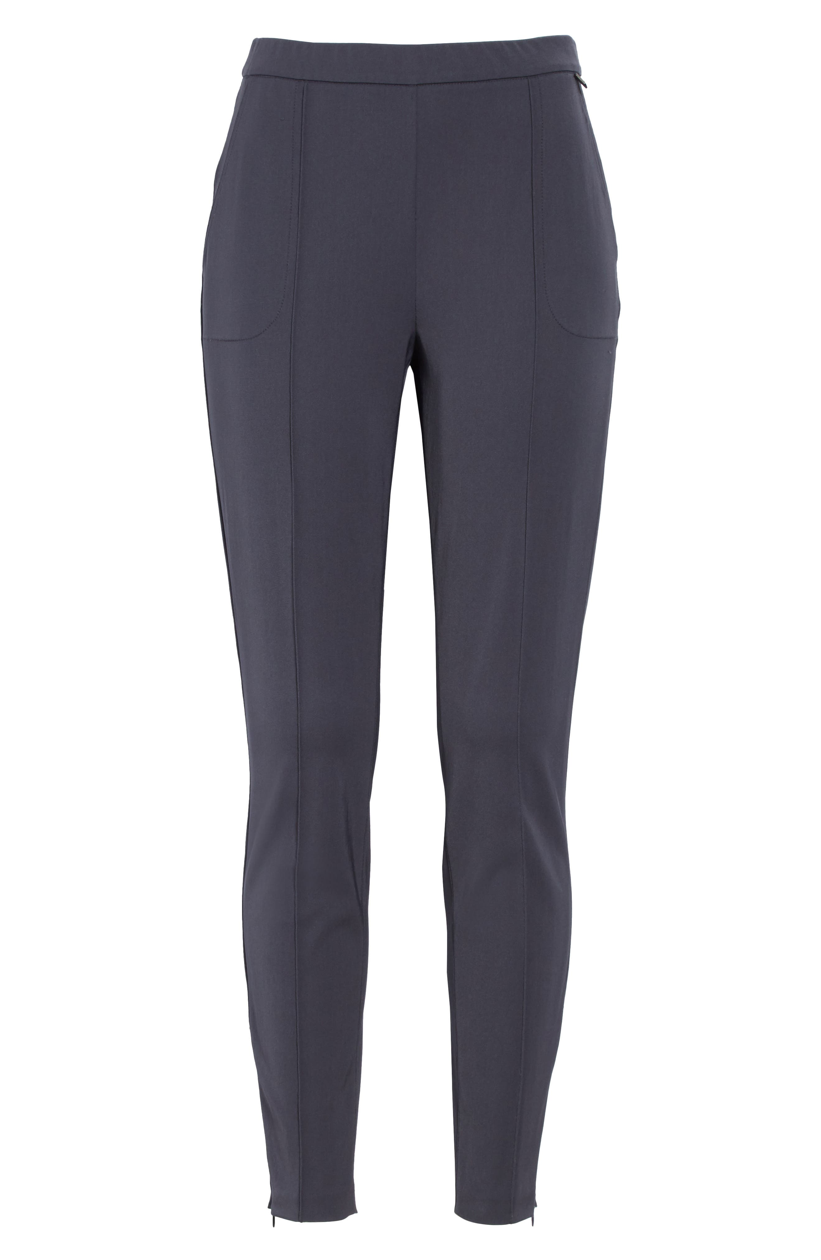 Stretch Tech Twill Pants,                             Alternate thumbnail 7, color,                             Anthracite