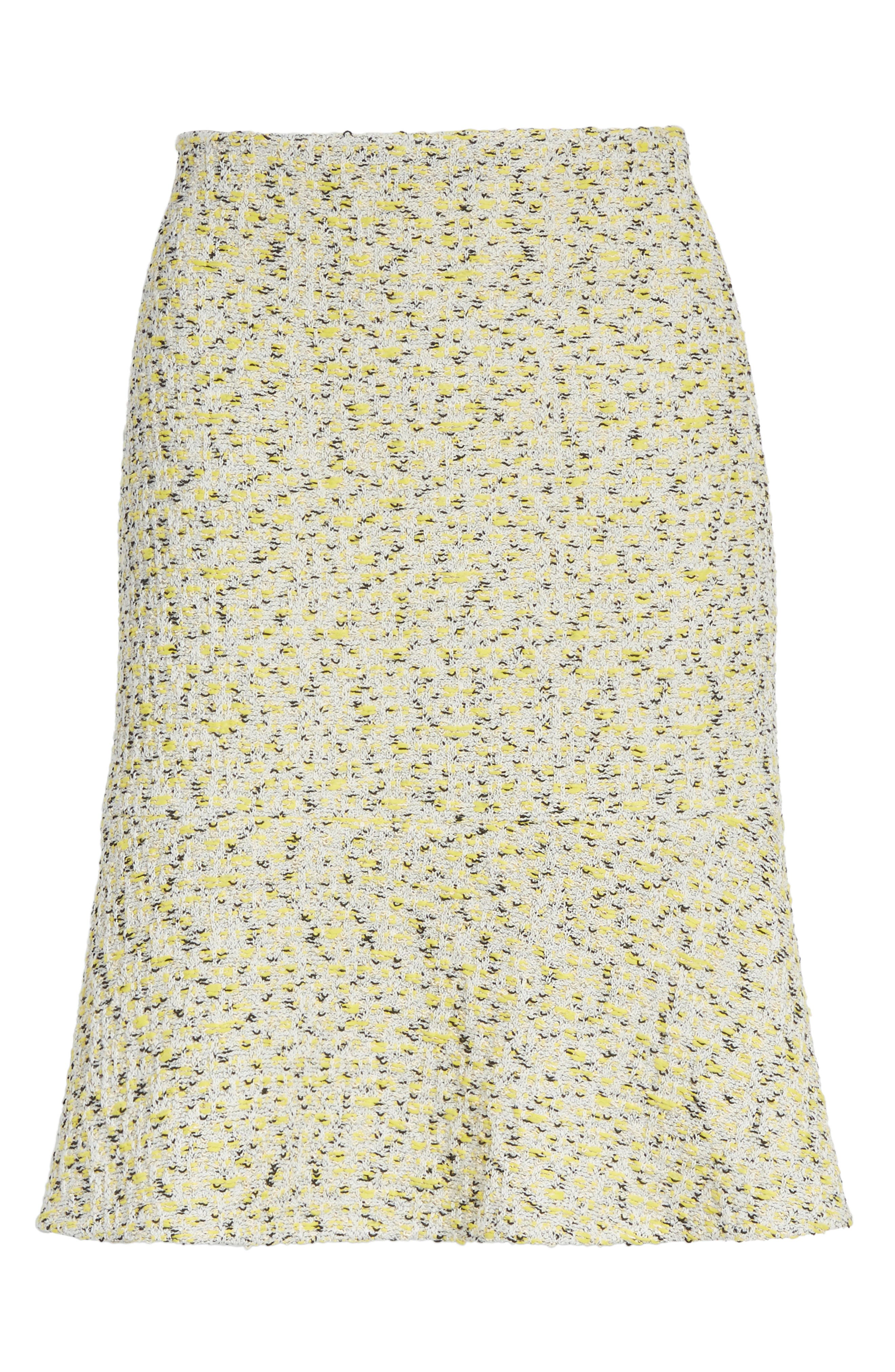 Alternate Image 6  - St. John Collection Romee Tweed Fit & Flare Skirt