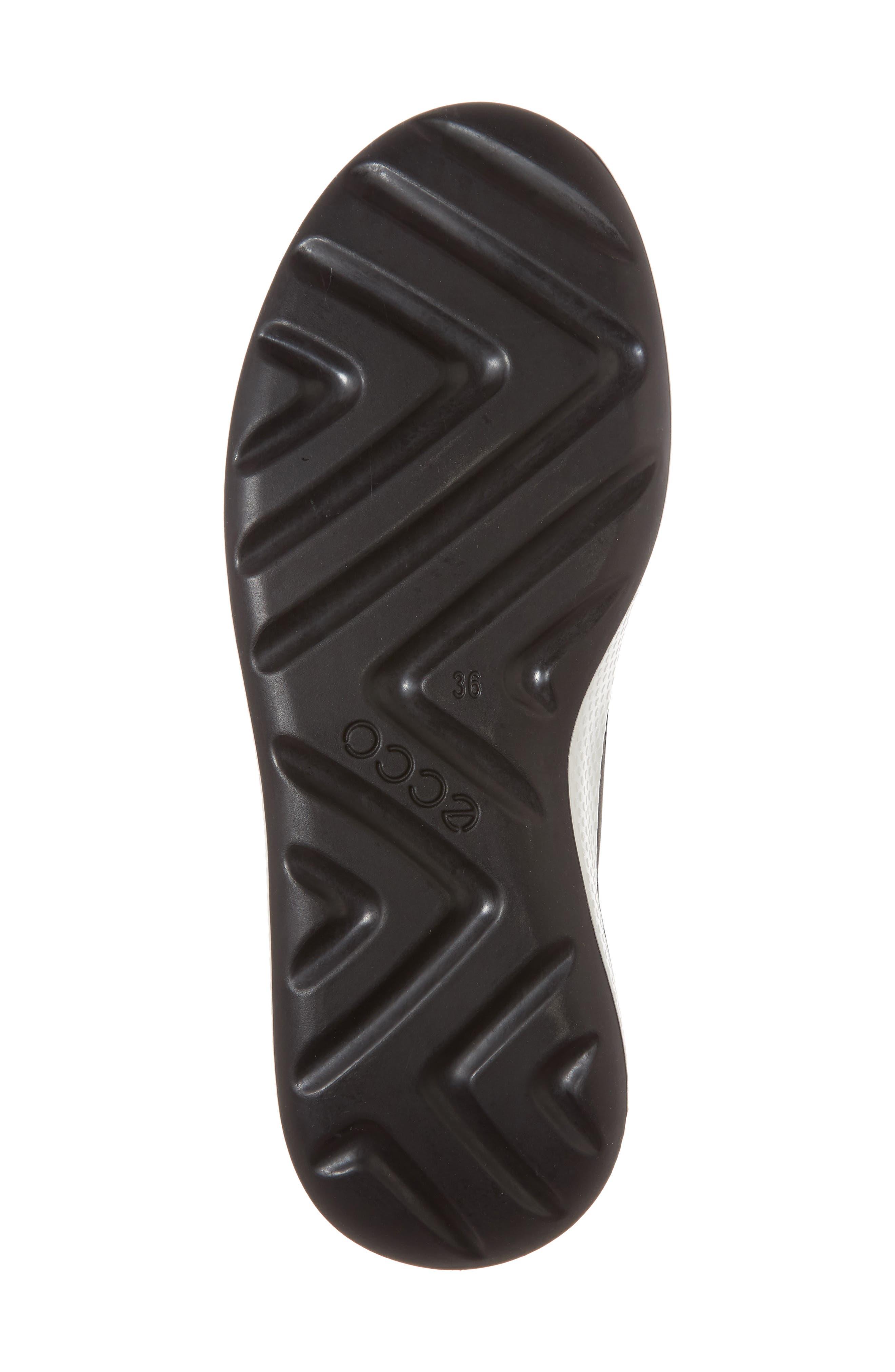 Ukiuk Genuine Shearling Boot,                             Alternate thumbnail 6, color,                             Black Leather