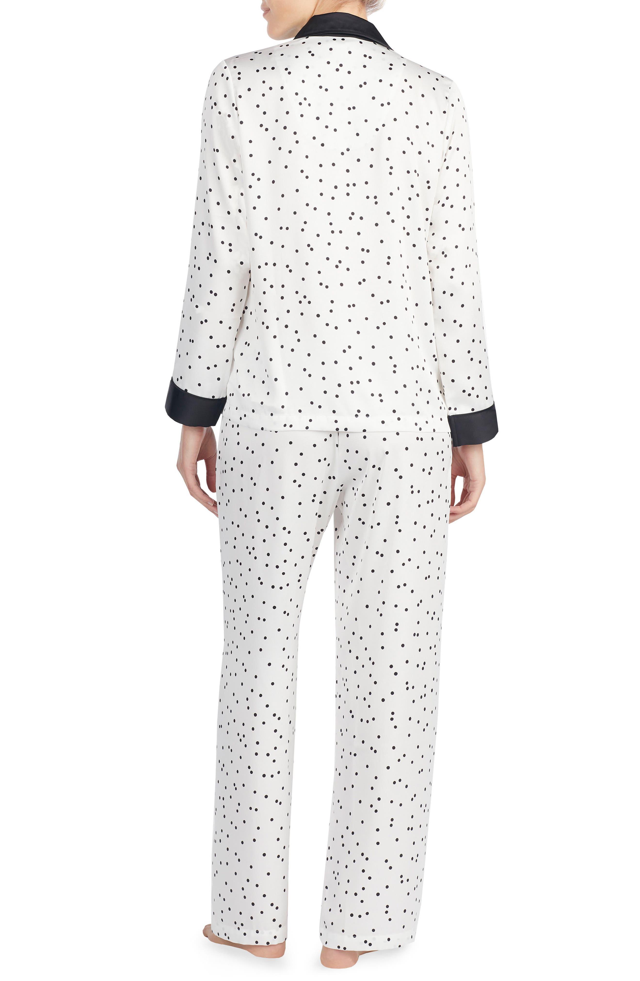 Alternate Image 2  - kate spade new york print charmeuse pajamas