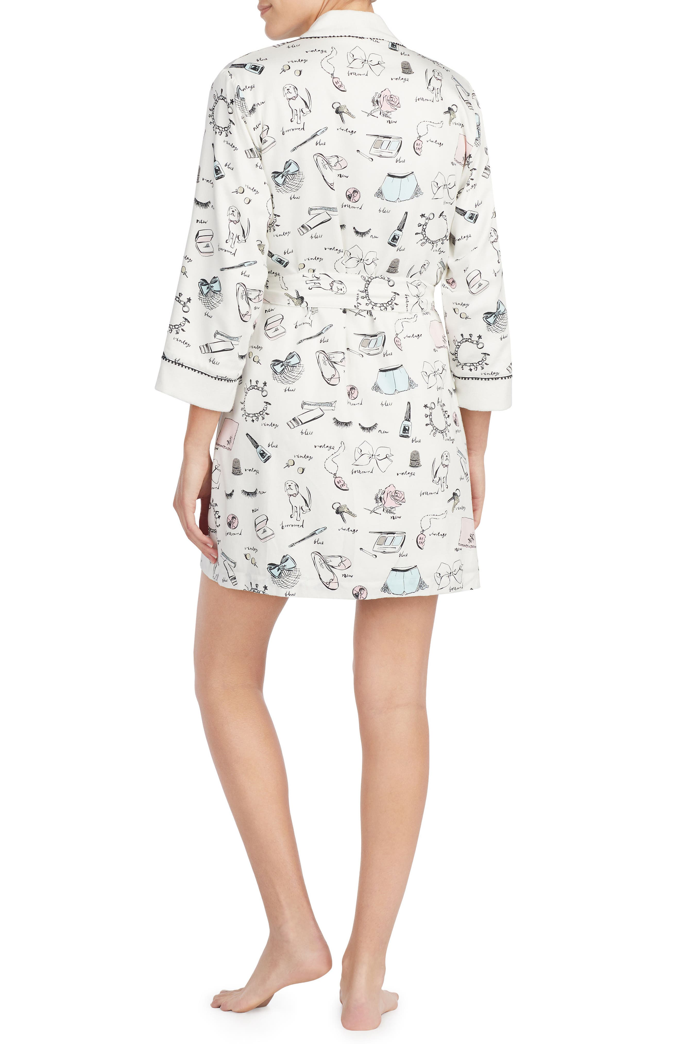 Alternate Image 2  - kate spade new york print robe