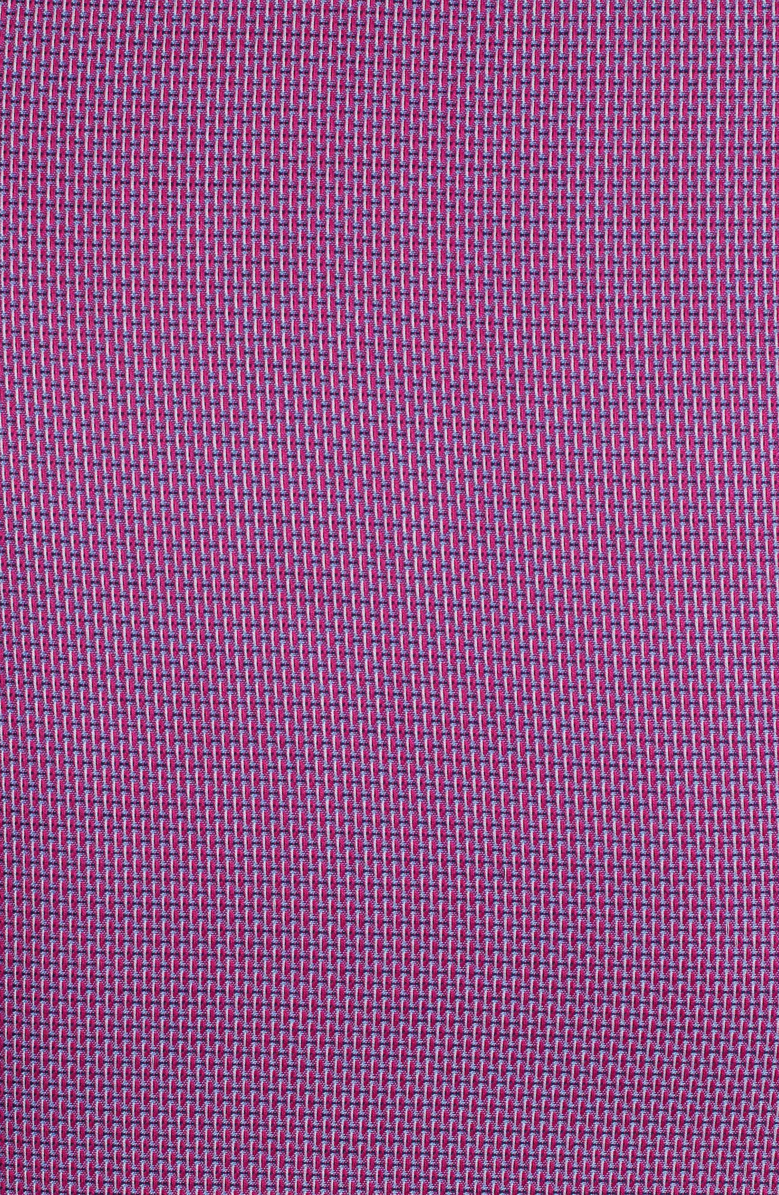 Jobson Regular Fit Sport Shirt,                             Alternate thumbnail 7, color,                             Raspberry