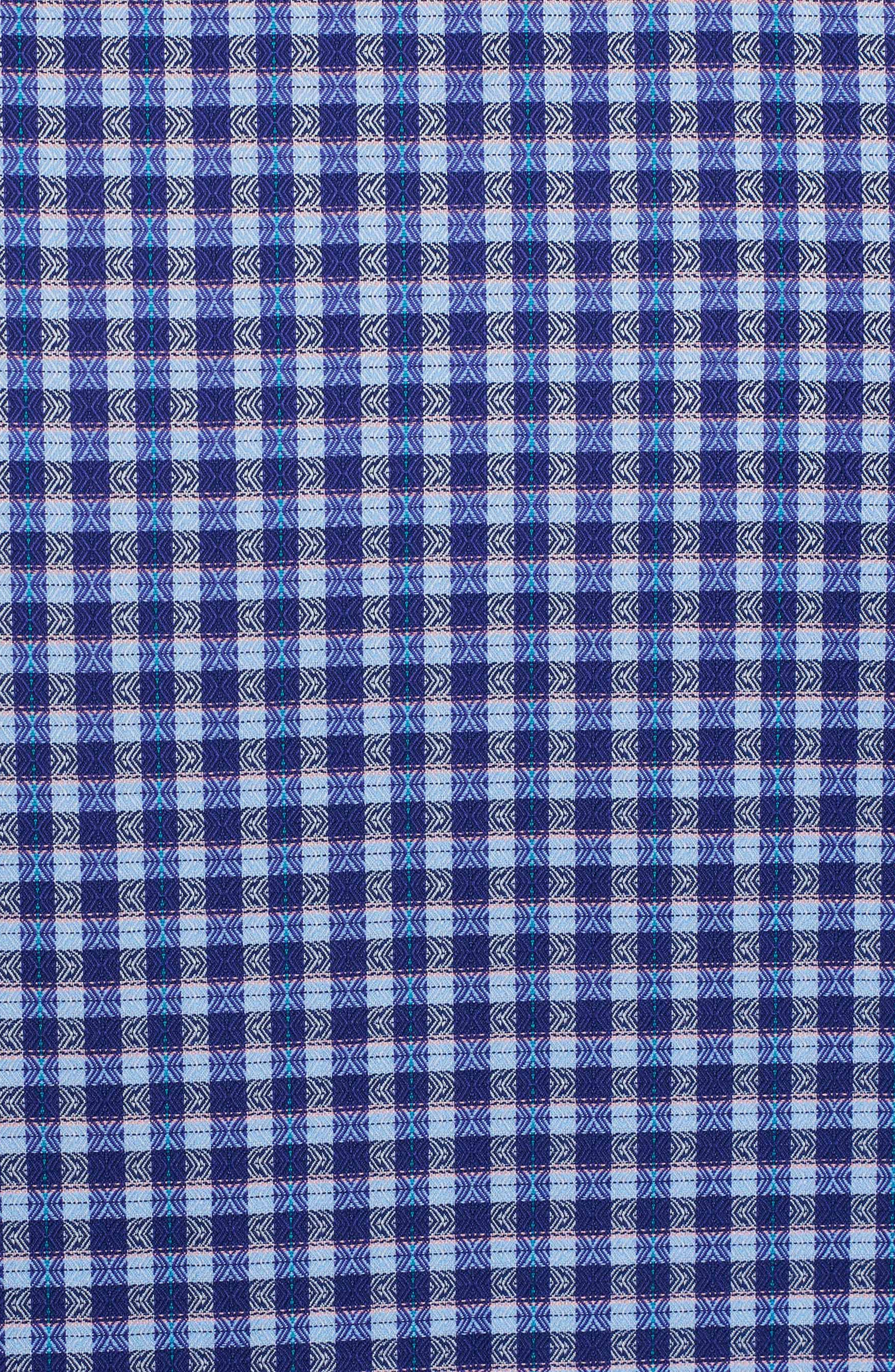 Matira Classic Fit Check Sport Shirt,                             Alternate thumbnail 7, color,                             Purple