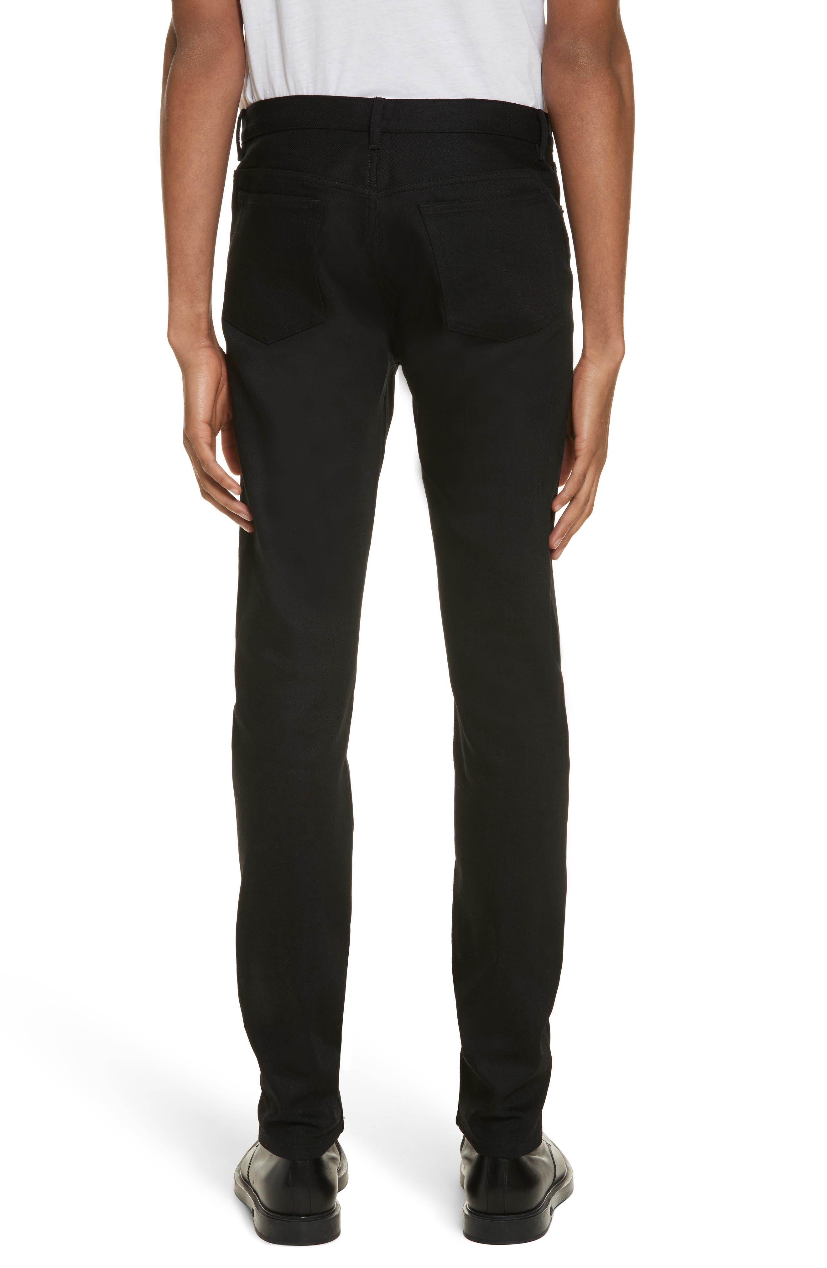 Alternate Image 2  - A.P.C. Petit New Standard Slim Fit Jeans