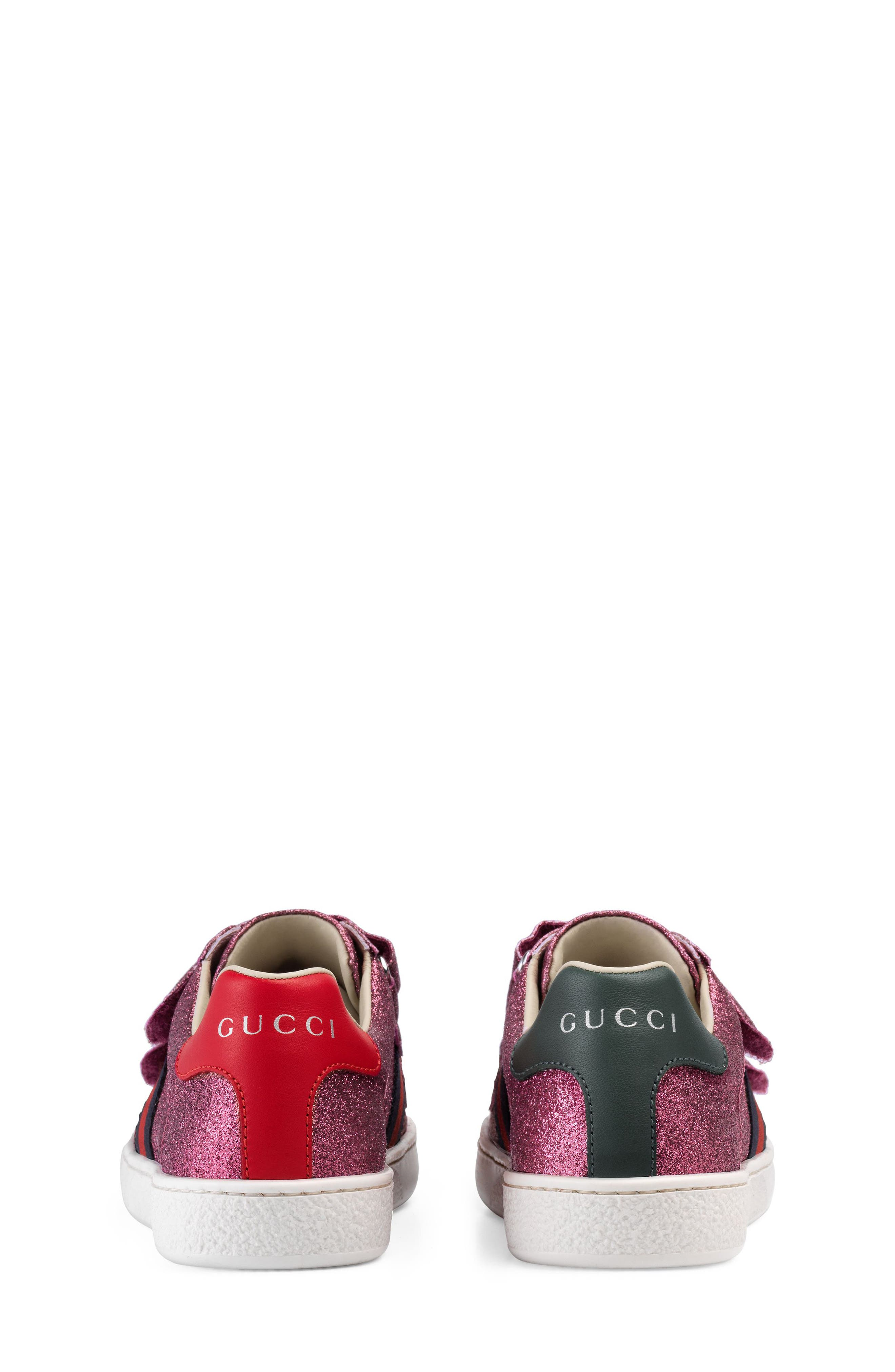 Alternate Image 3  - Gucci New Ace Sneaker (Baby, Walker, Toddler & Little Kid)