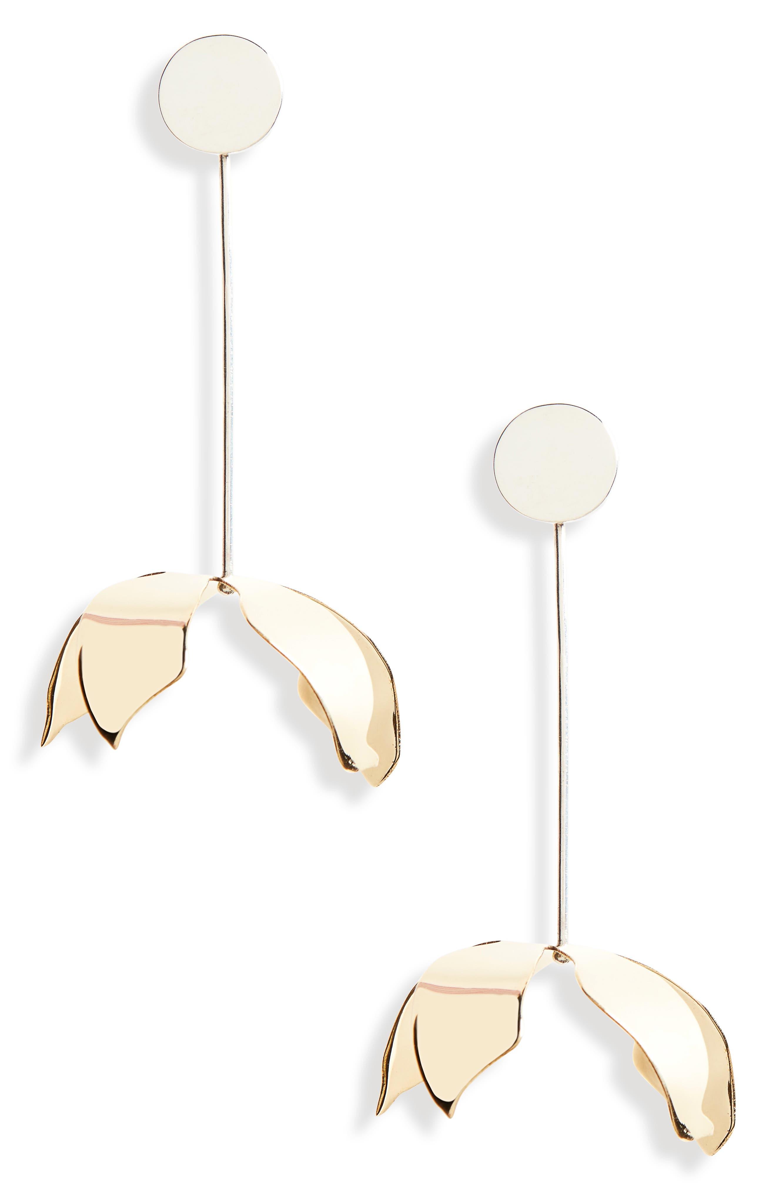 FARIS Ladyday Linear Drop Earrings