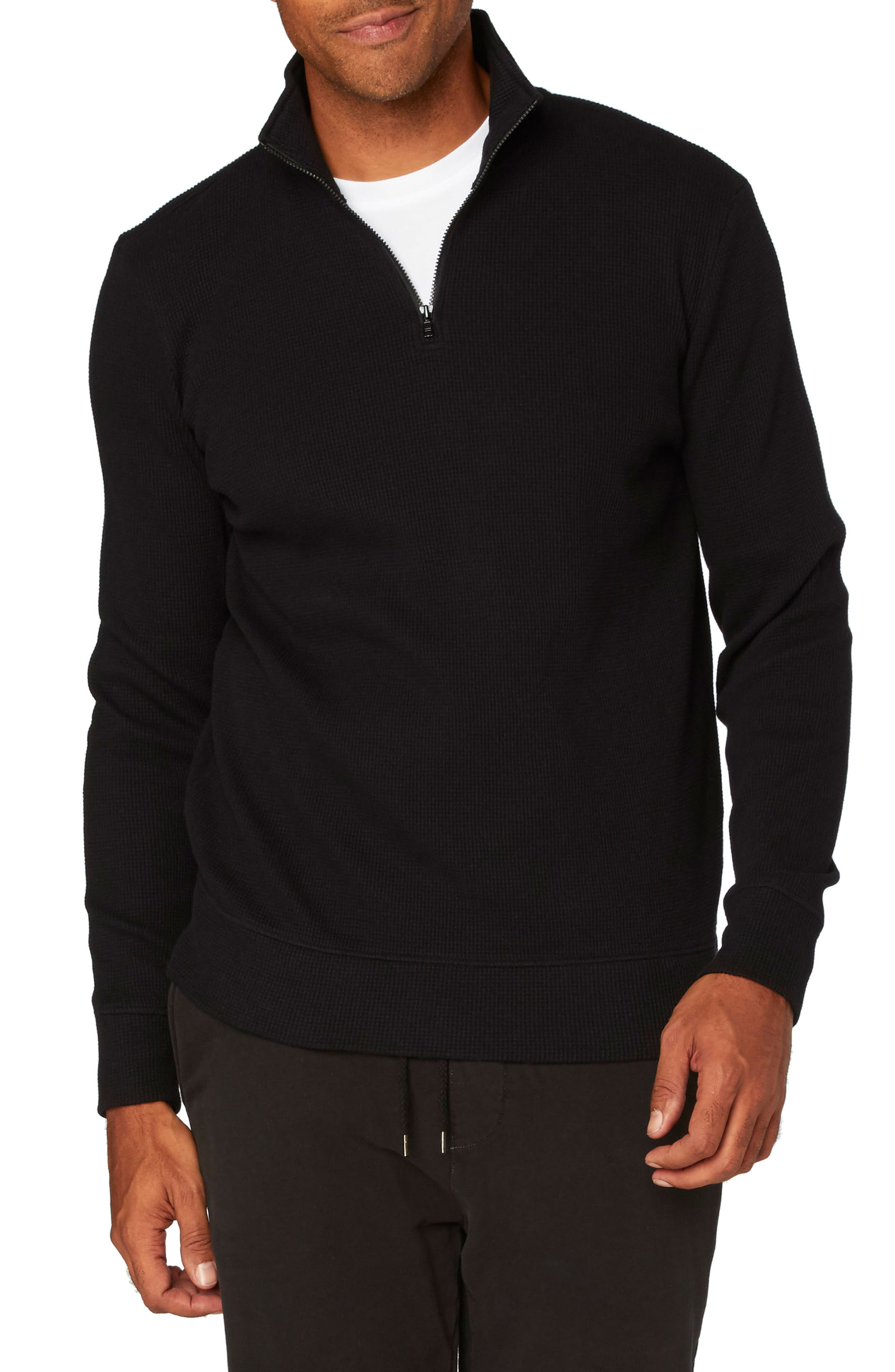 Threads for Thought Chad Half Zip Thermal Pullover