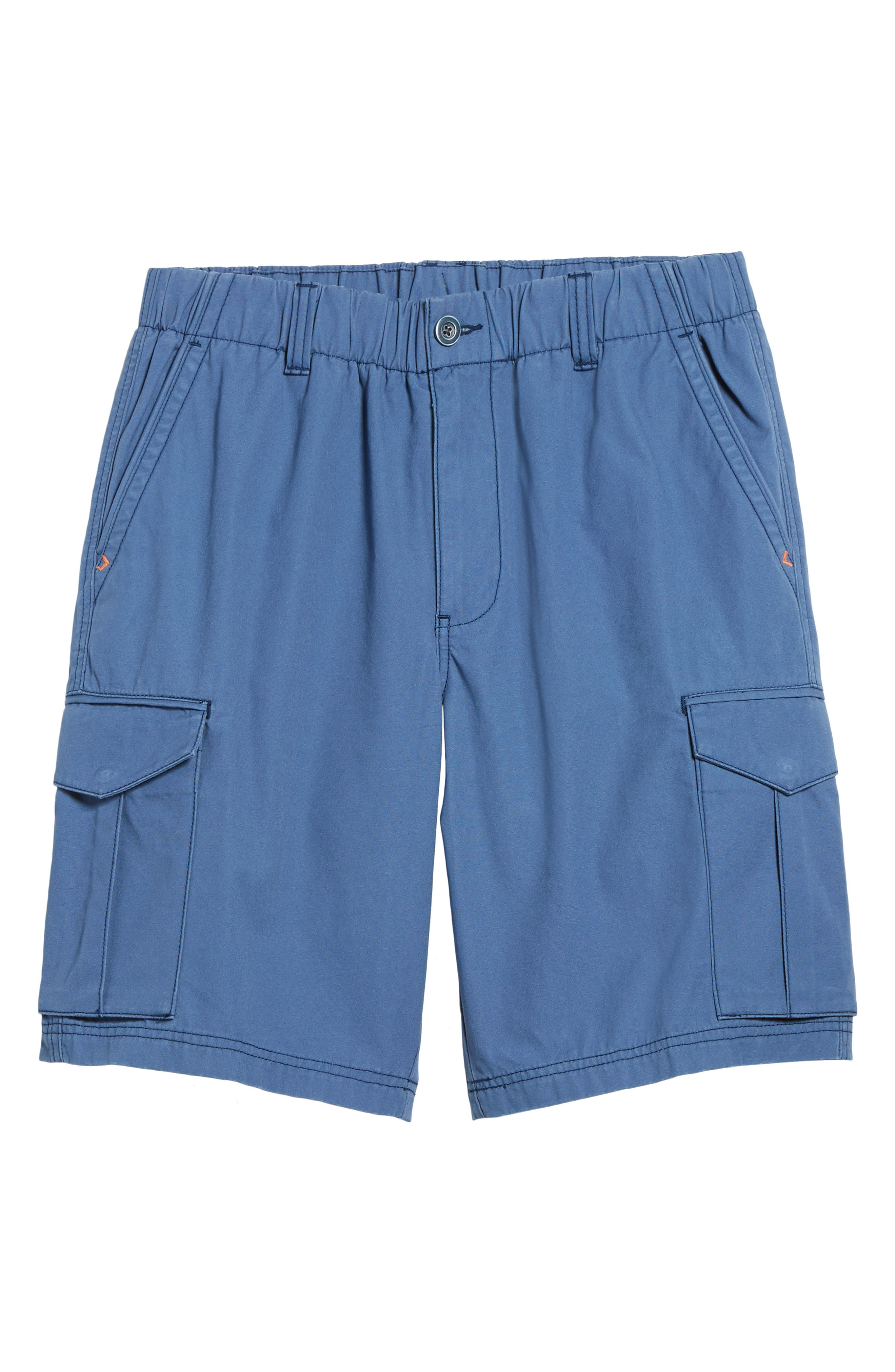 Island Survivalist Cargo Shorts,                             Alternate thumbnail 6, color,                             Dockside Blue