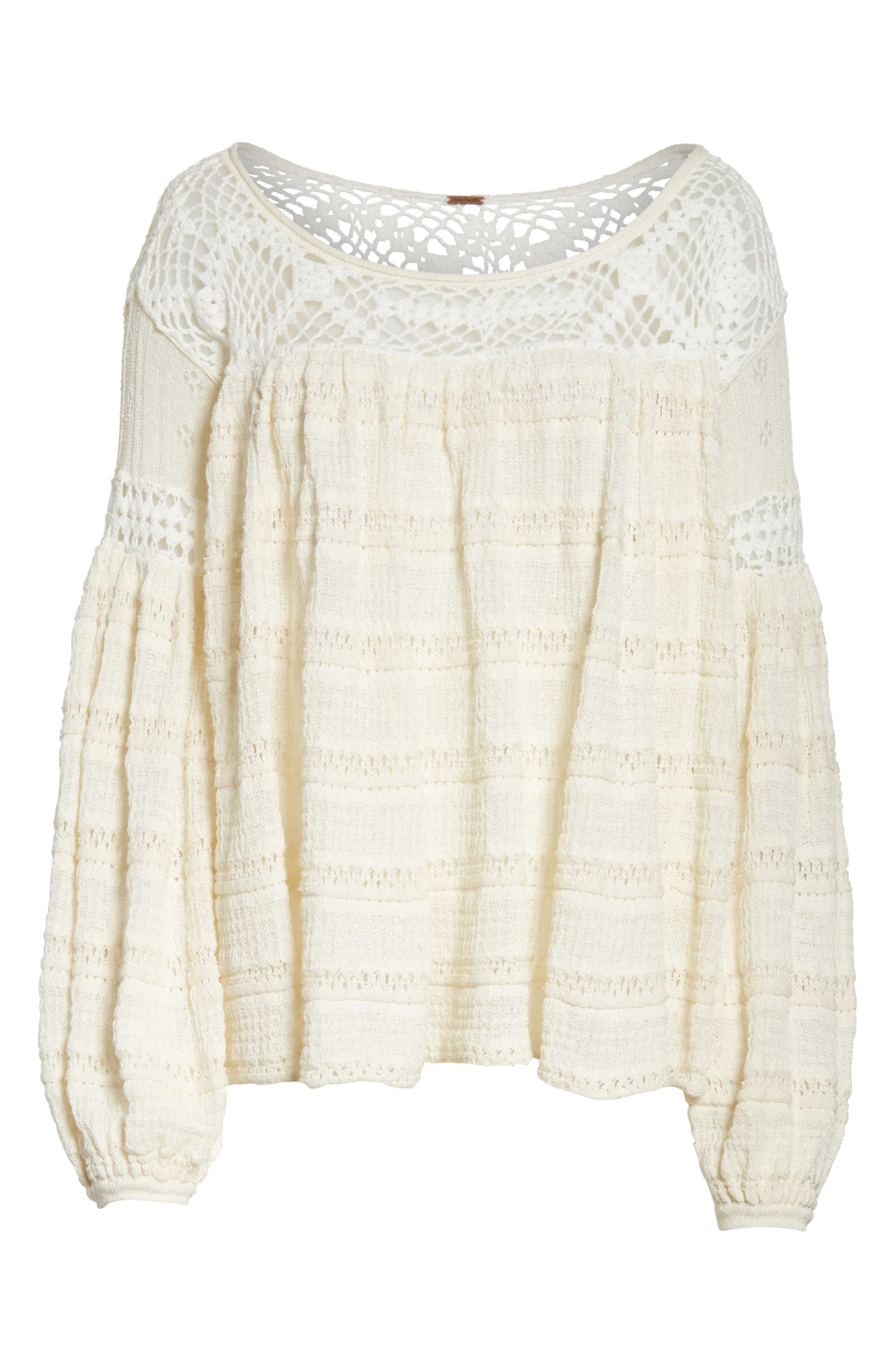 Someday Sweater,                             Alternate thumbnail 6, color,                             Ivory