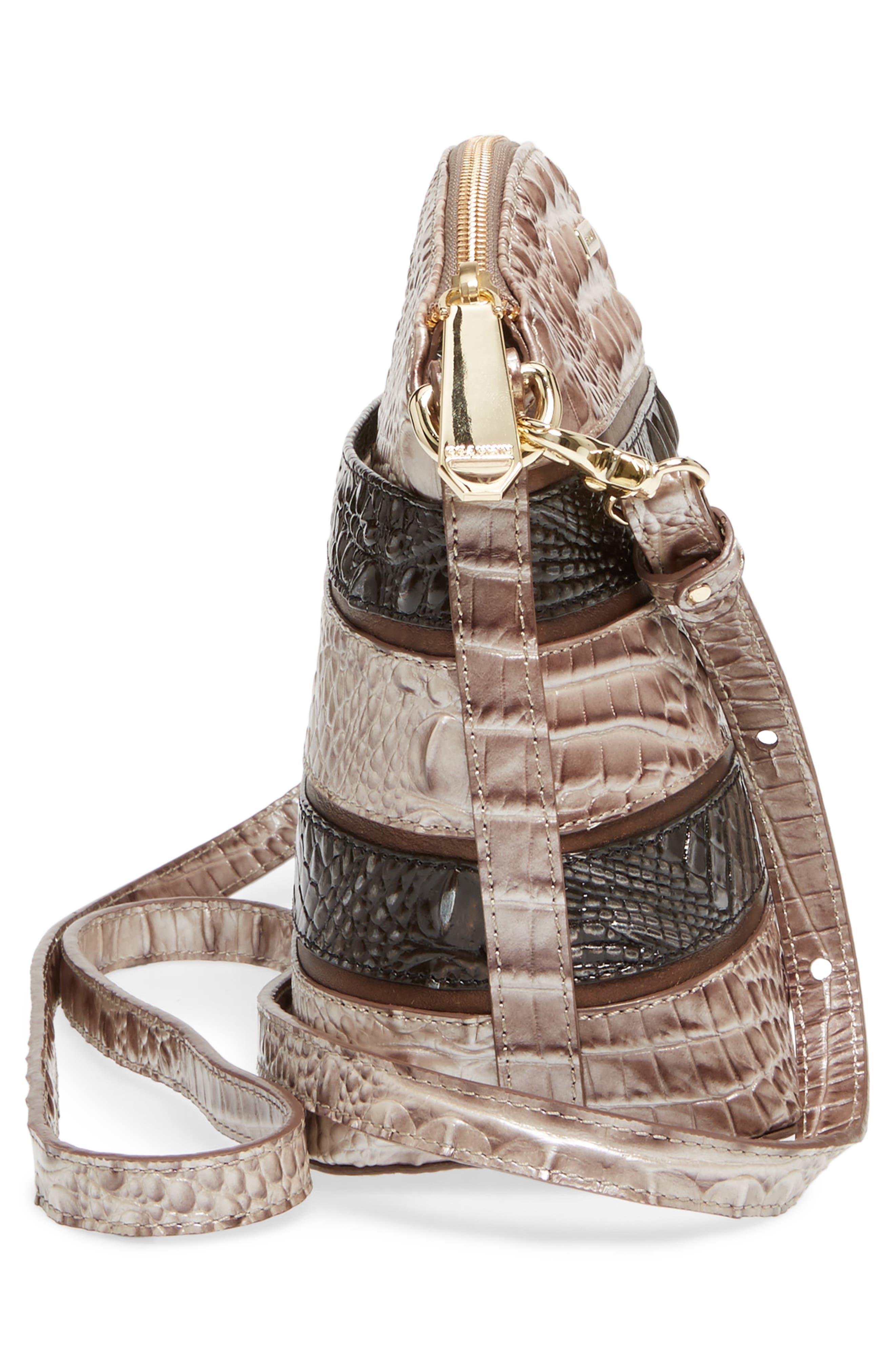 Mini Duxbury Leather Crossbody Bag,                             Alternate thumbnail 5, color,                             Chardonnay