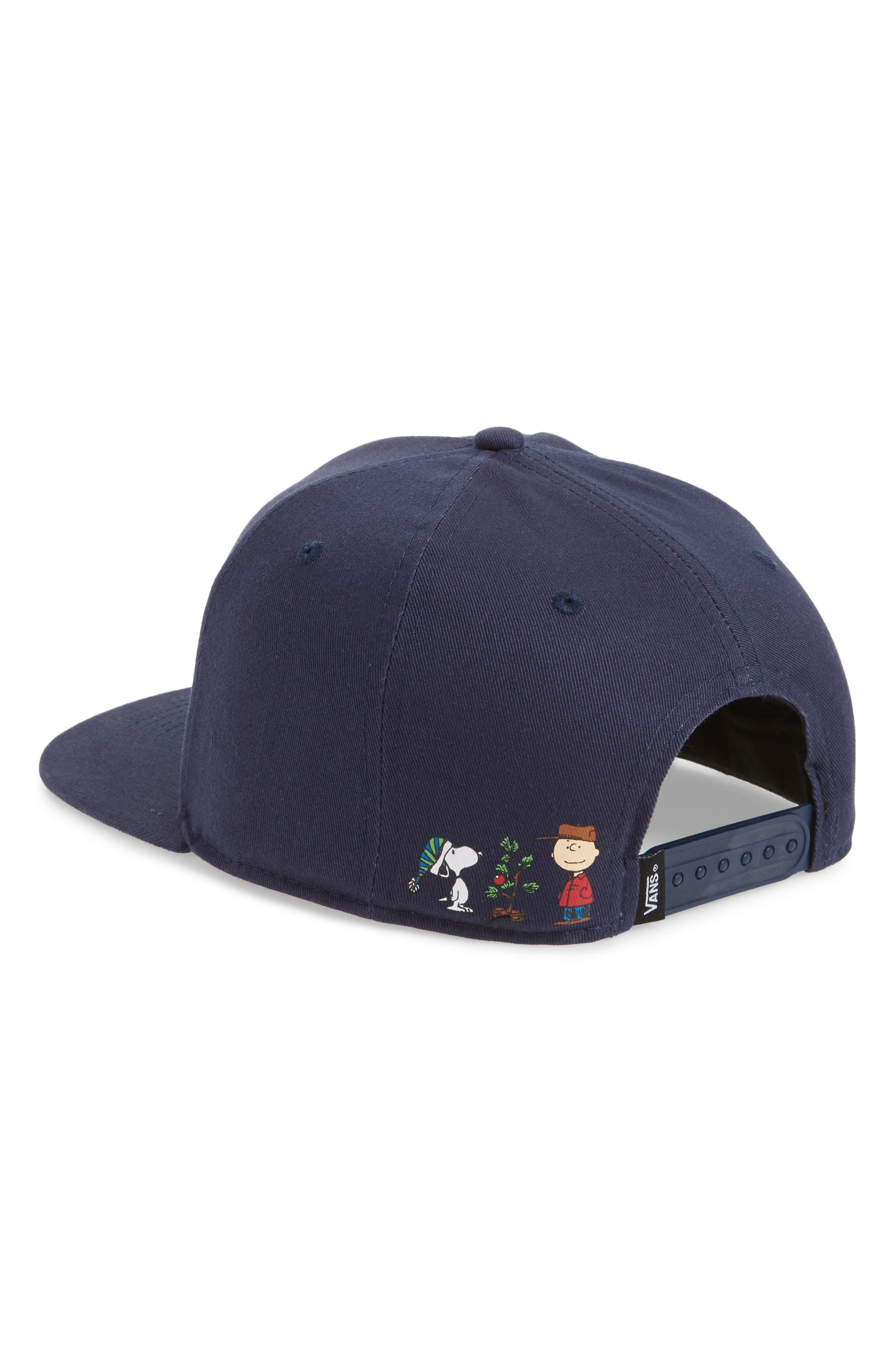 Alternate Image 2  - Vans x Peanuts Snapback Ball Cap
