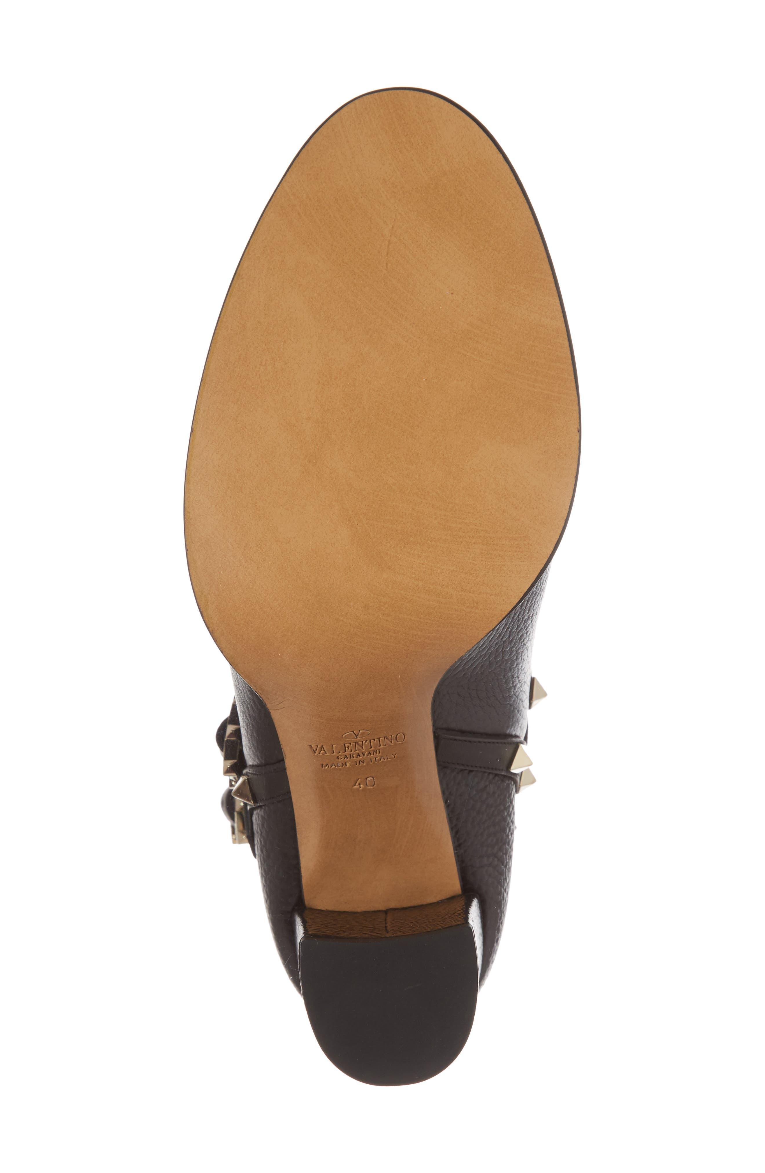 Alternate Image 6  - VALENTINO GARAVANI 'Rockstud' Block Heel Bootie (Women)