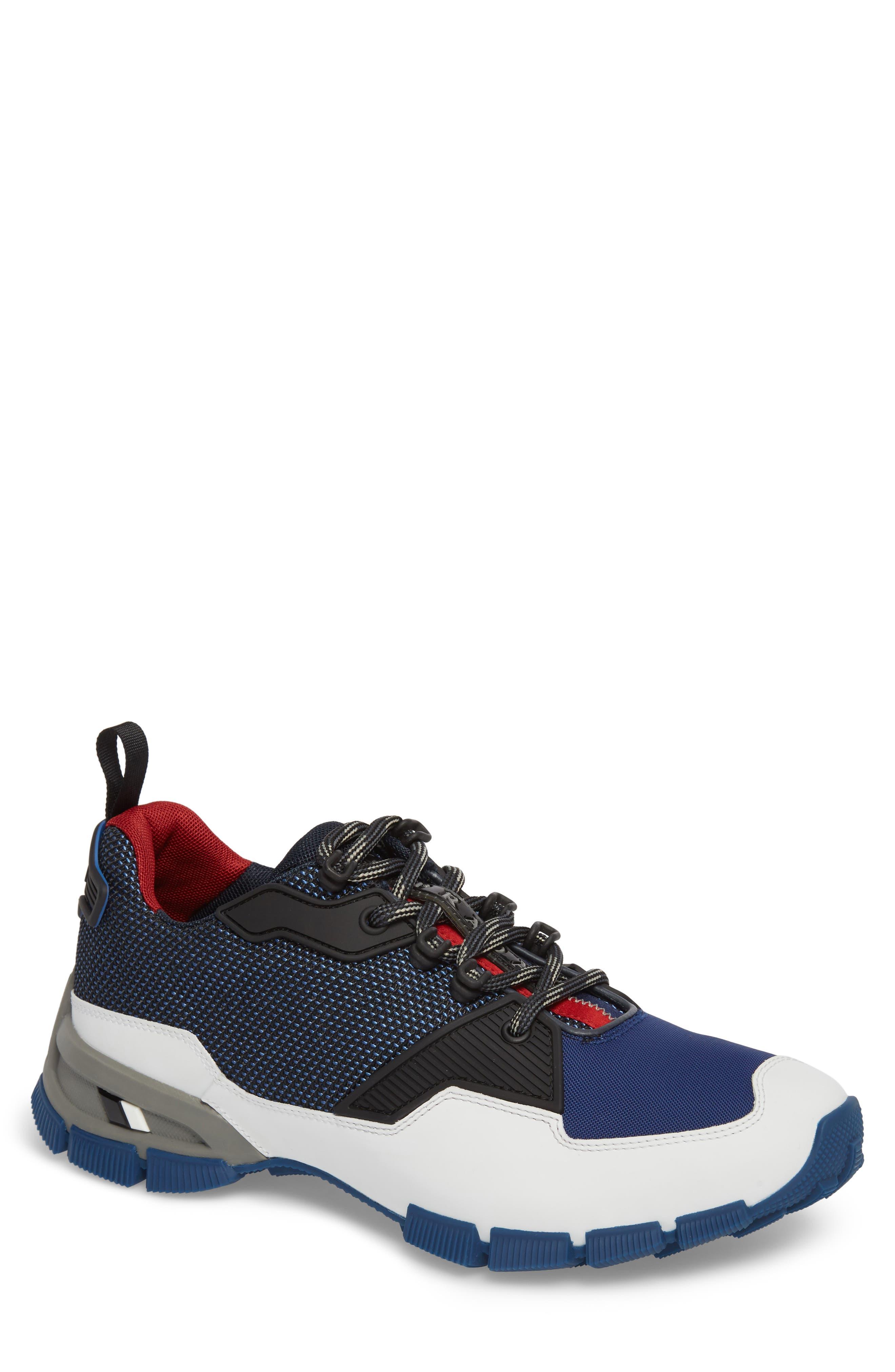 Prada Linea Rossa Tech Lug Sneaker (Men)