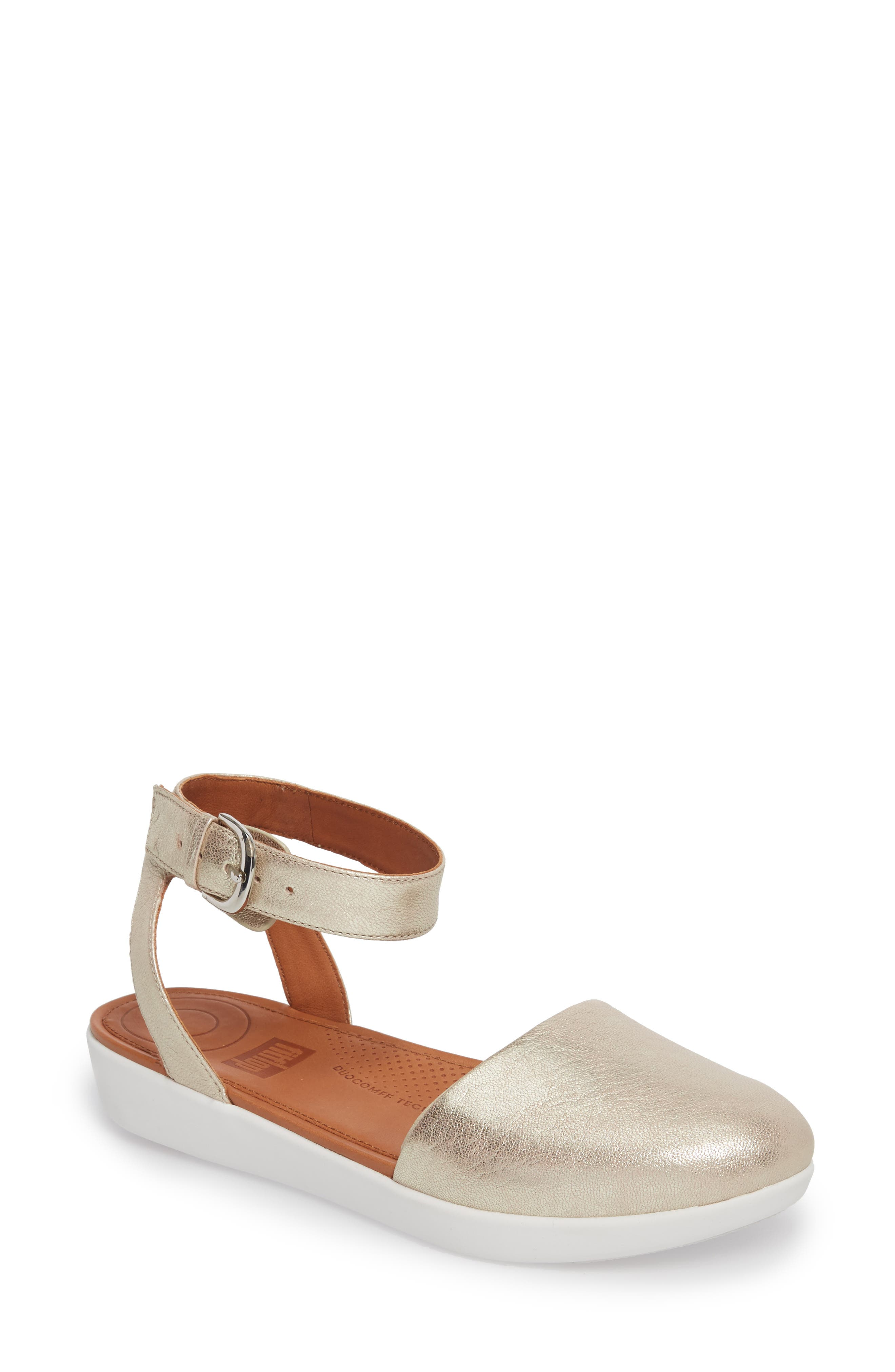 FitFlop Cova Ankle Strap Sandal (Women)