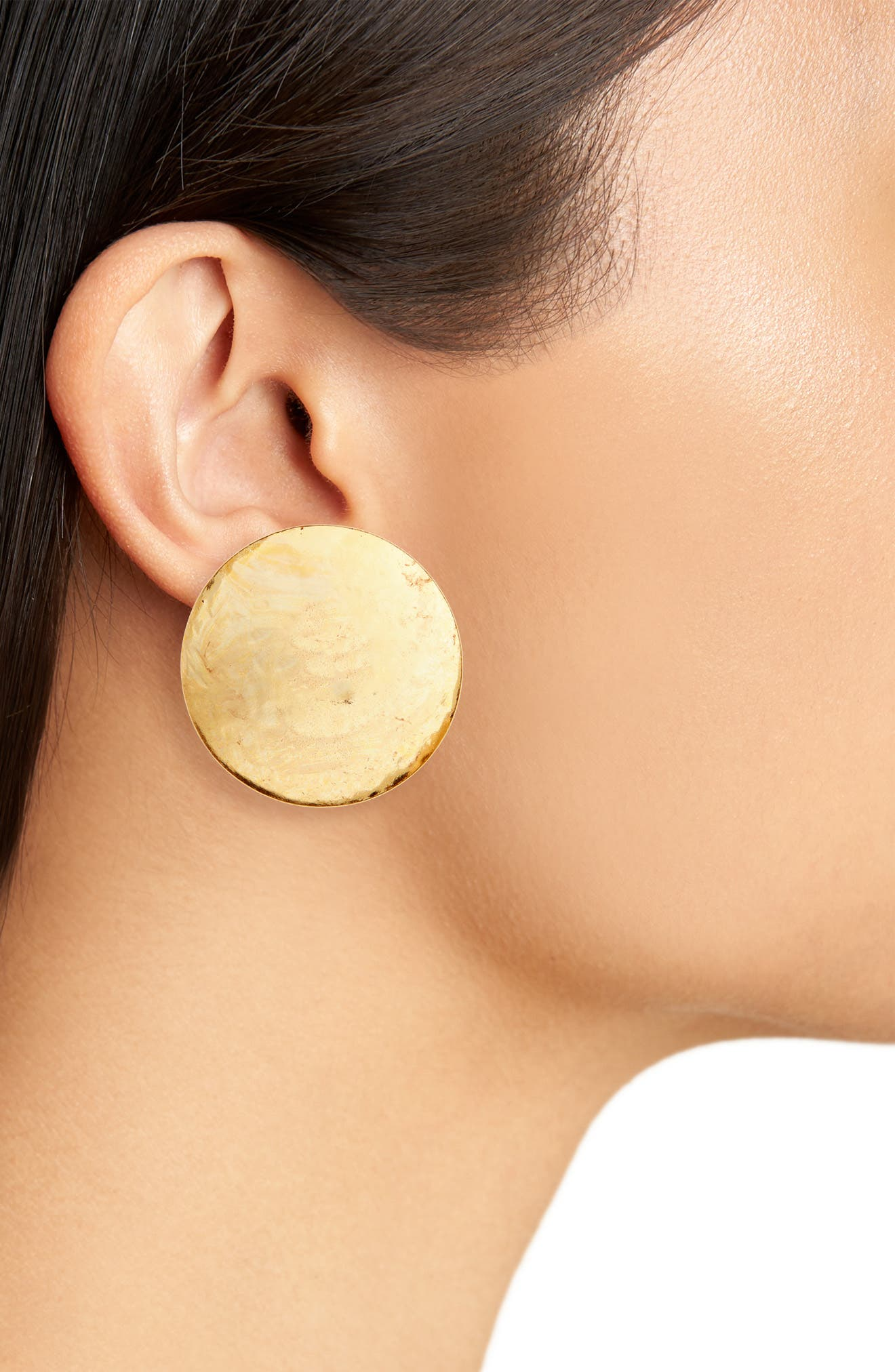 Alternate Image 2  - Oscar de la Renta Clip Earrings