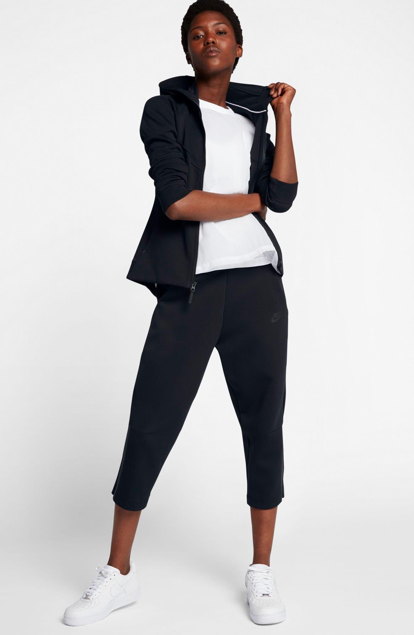 Sportswear Women's Tech Fleece Sneaker Pants,                             Alternate thumbnail 2, color,                             Black/ Black