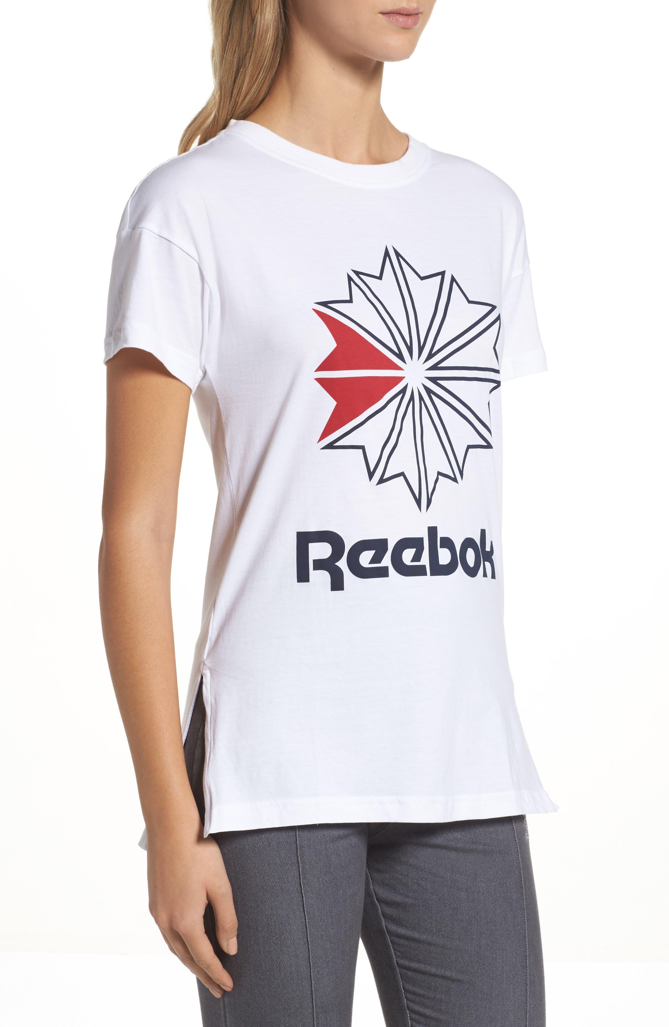 Alternate Image 3  - Reebok Graphic Logo Tee