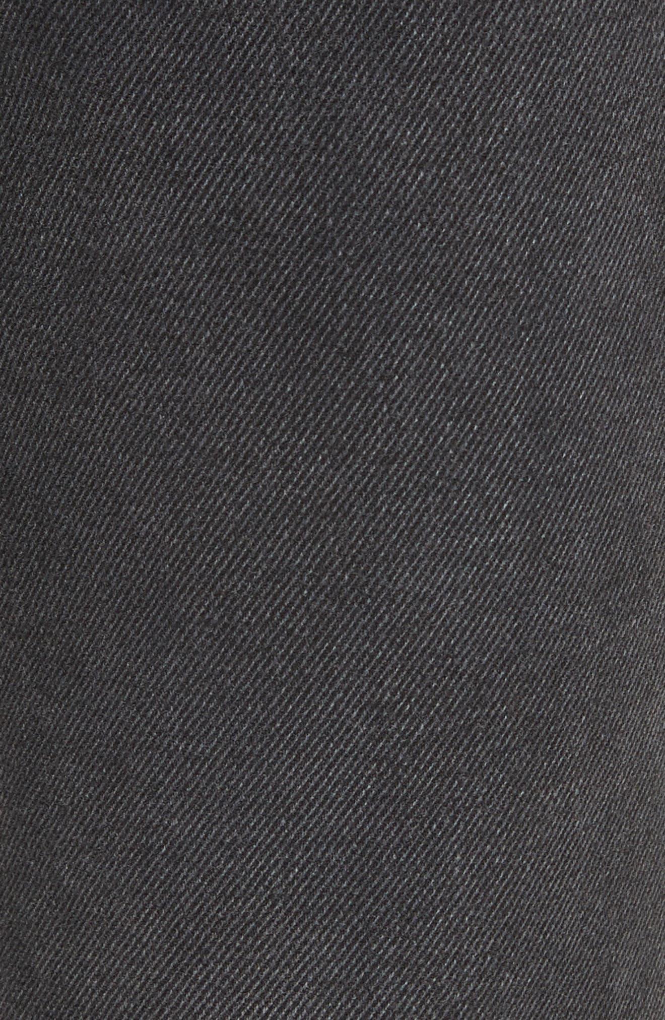 Alternate Image 5  - GRLFRND Helena Rigid High Waist Straight Jeans (Proud Mary)