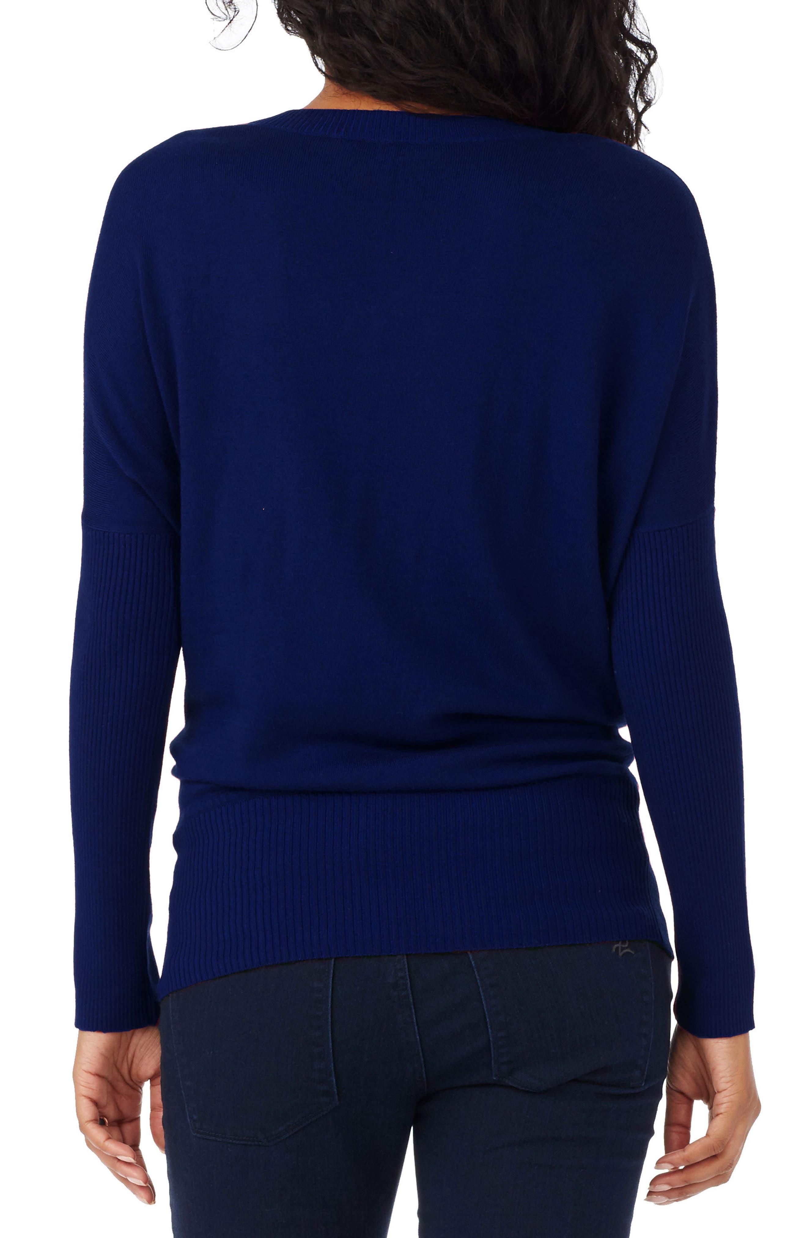 Alternate Image 2  - Rosie Pope V-Neck Maternity Sweater