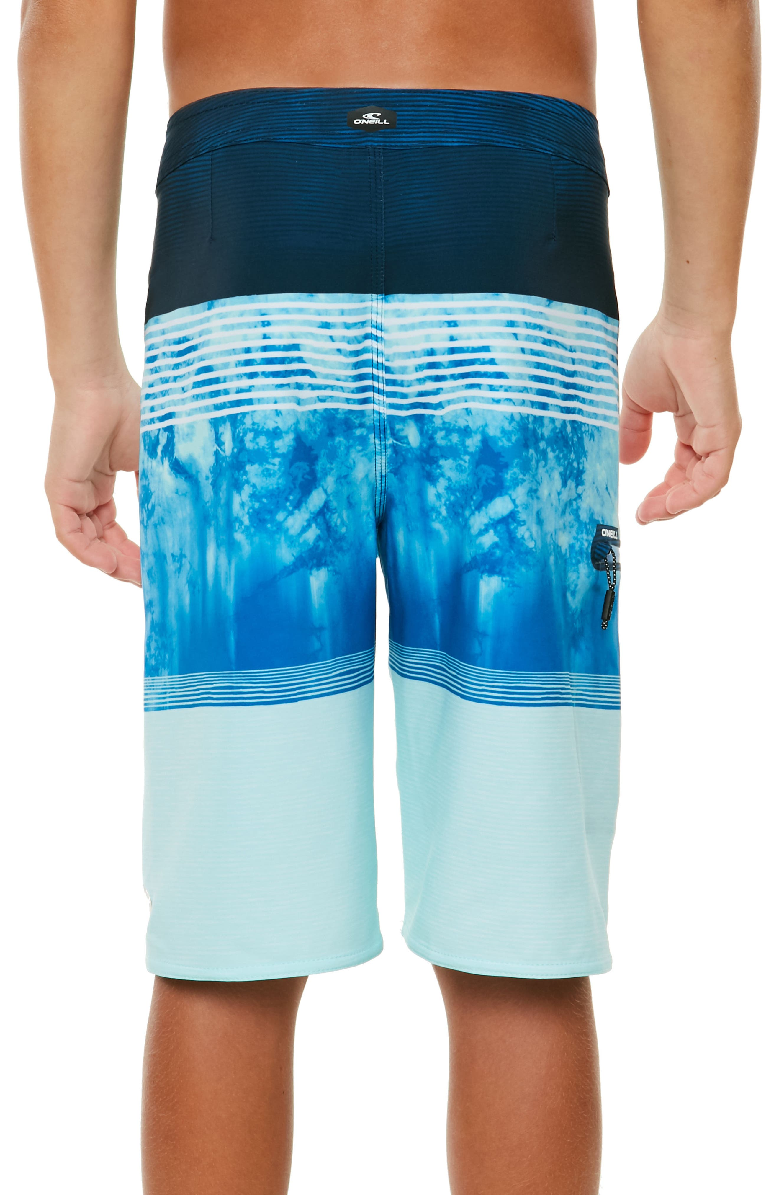 Hyperfreak Board Shorts,                             Alternate thumbnail 4, color,                             Blue