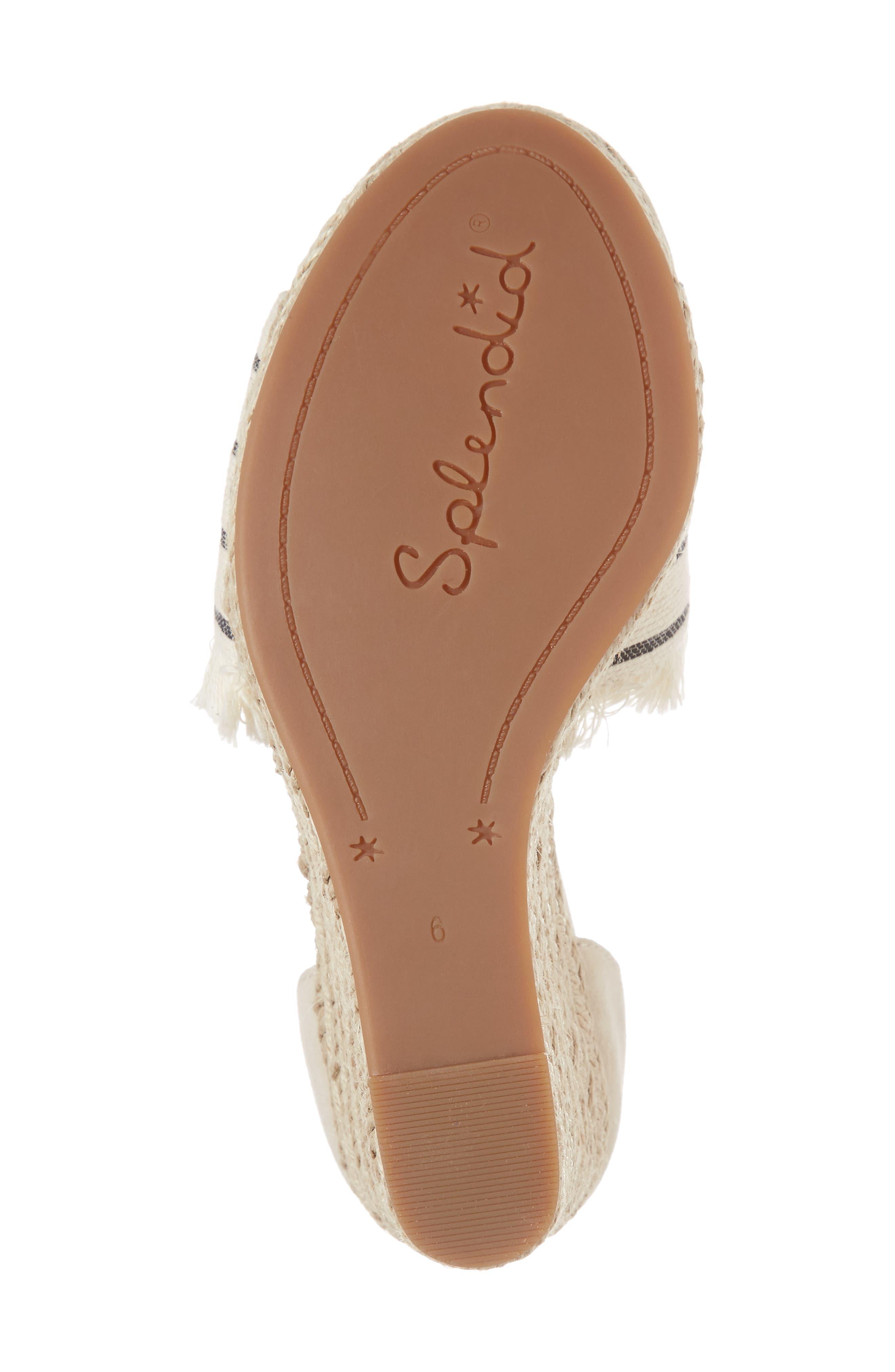 Alternate Image 6  - Splendid Barke Fringed Platform Wedge Sandal (Women)