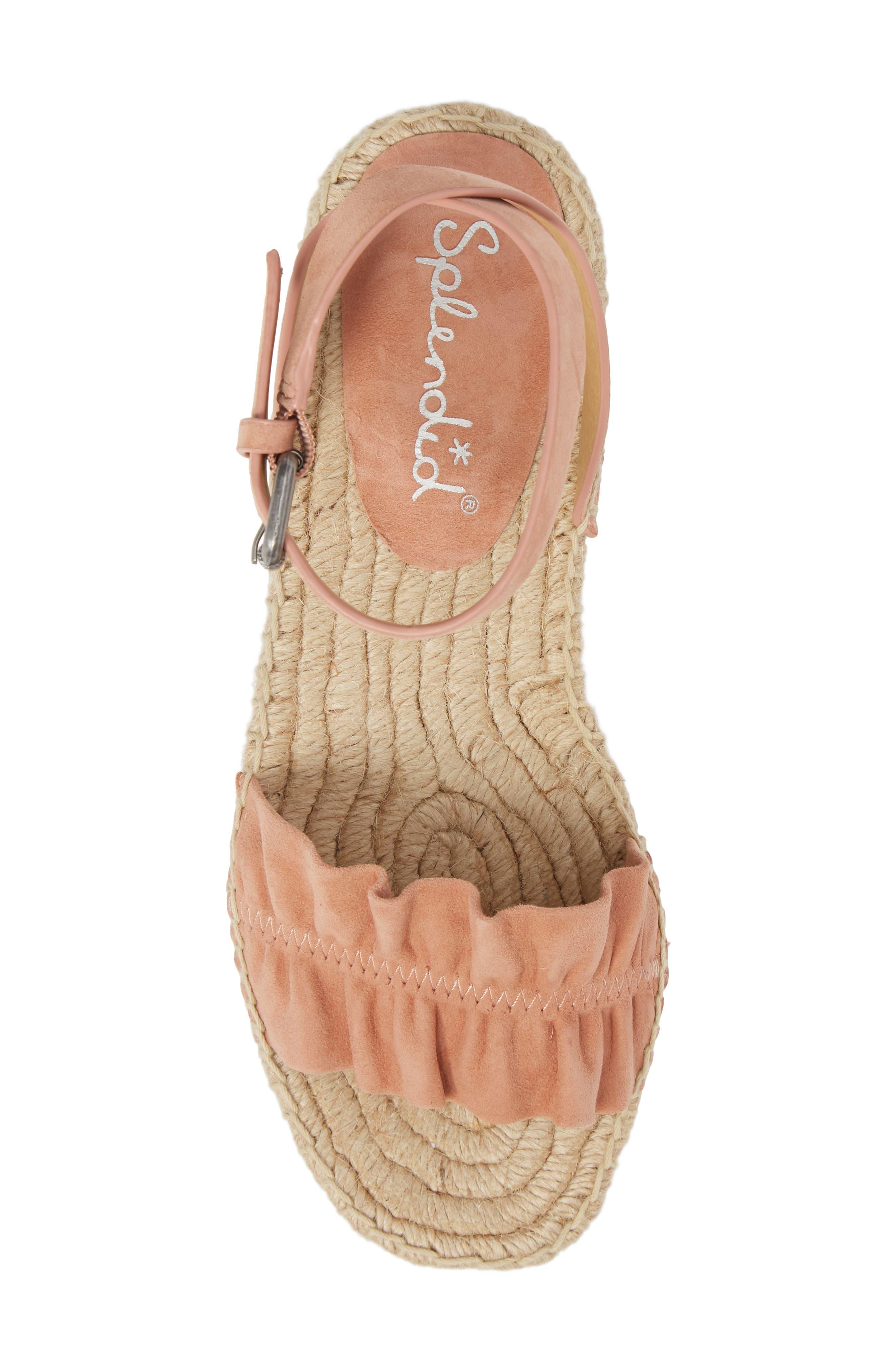 Alternate Image 5  - Splendid Becca Ruffled Espadrille Sandal (Women)
