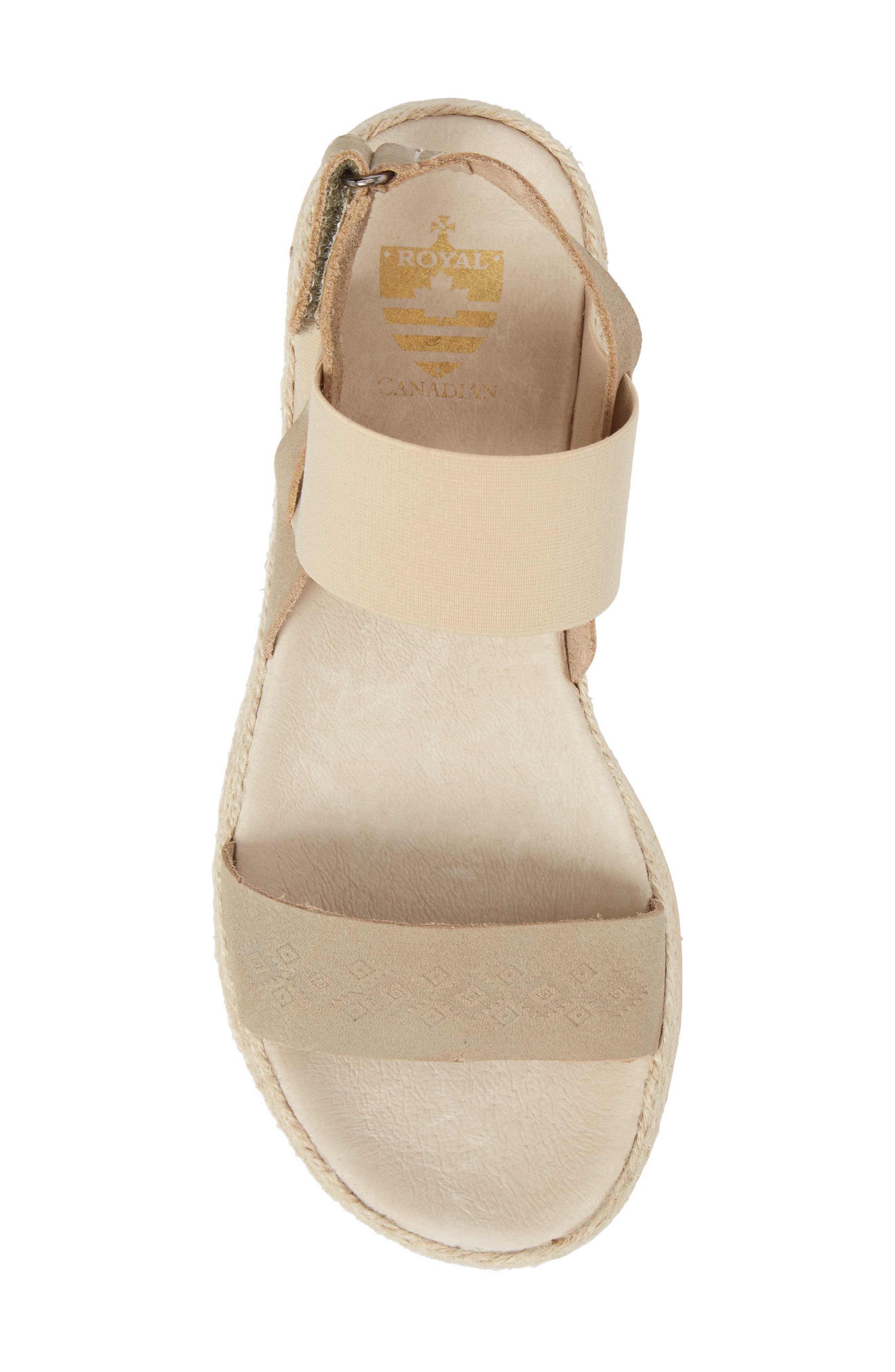 Tobermory Sandal,                             Alternate thumbnail 5, color,                             Taupe Leather