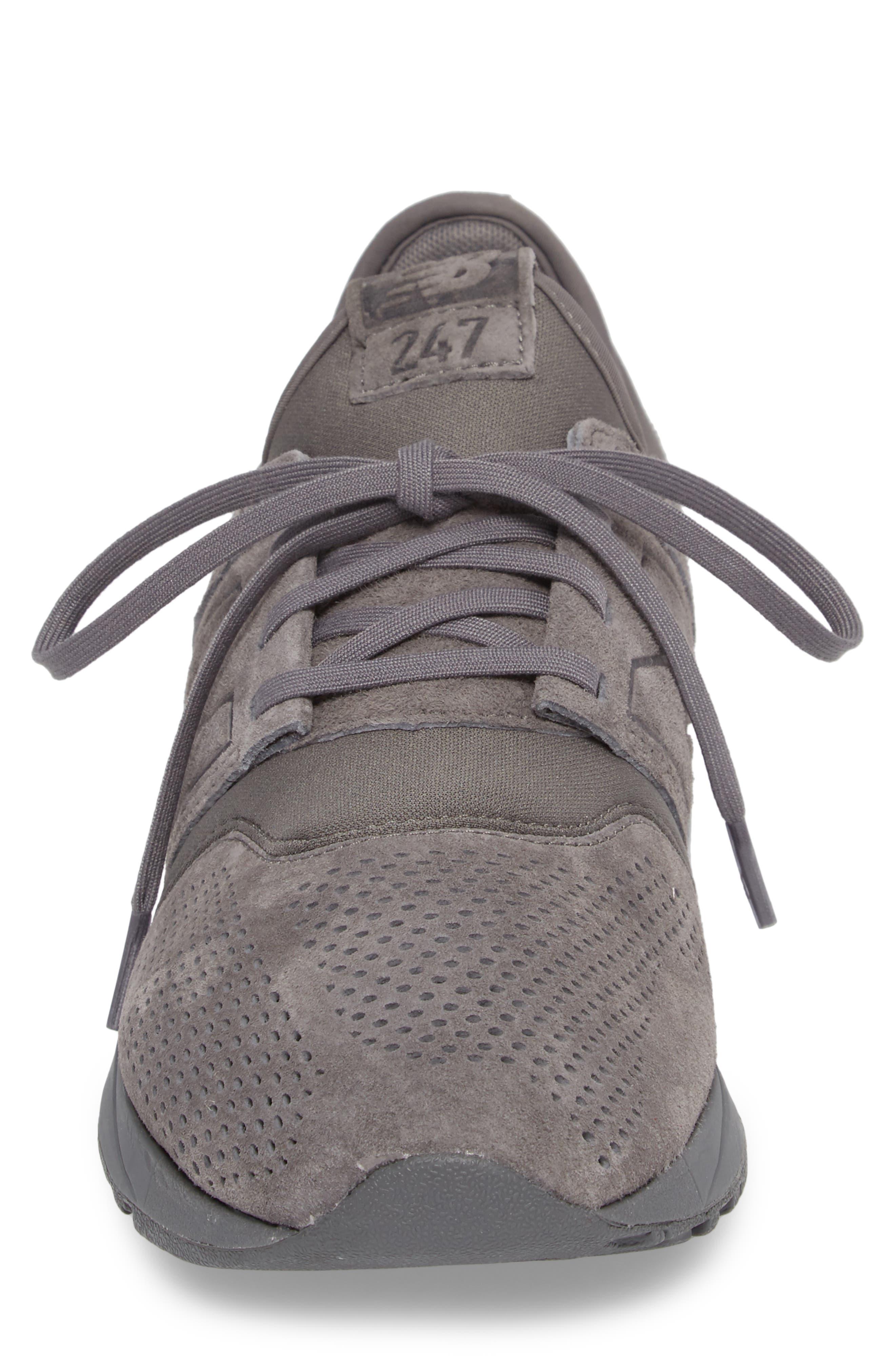 MRL247 Sneaker,                             Alternate thumbnail 4, color,                             Grey