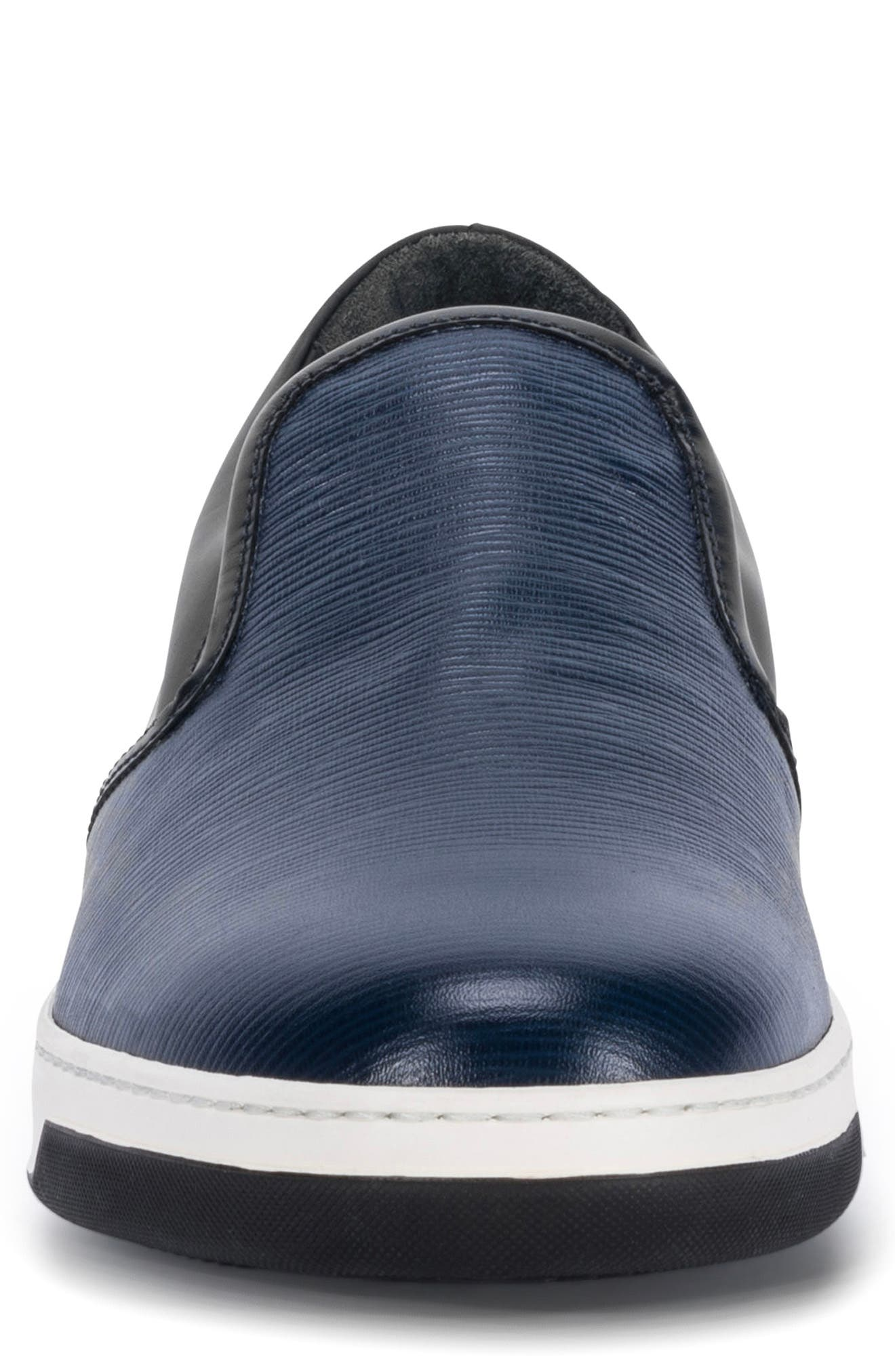 Santorini Slip-On Sneaker,                             Alternate thumbnail 4, color,                             Blue