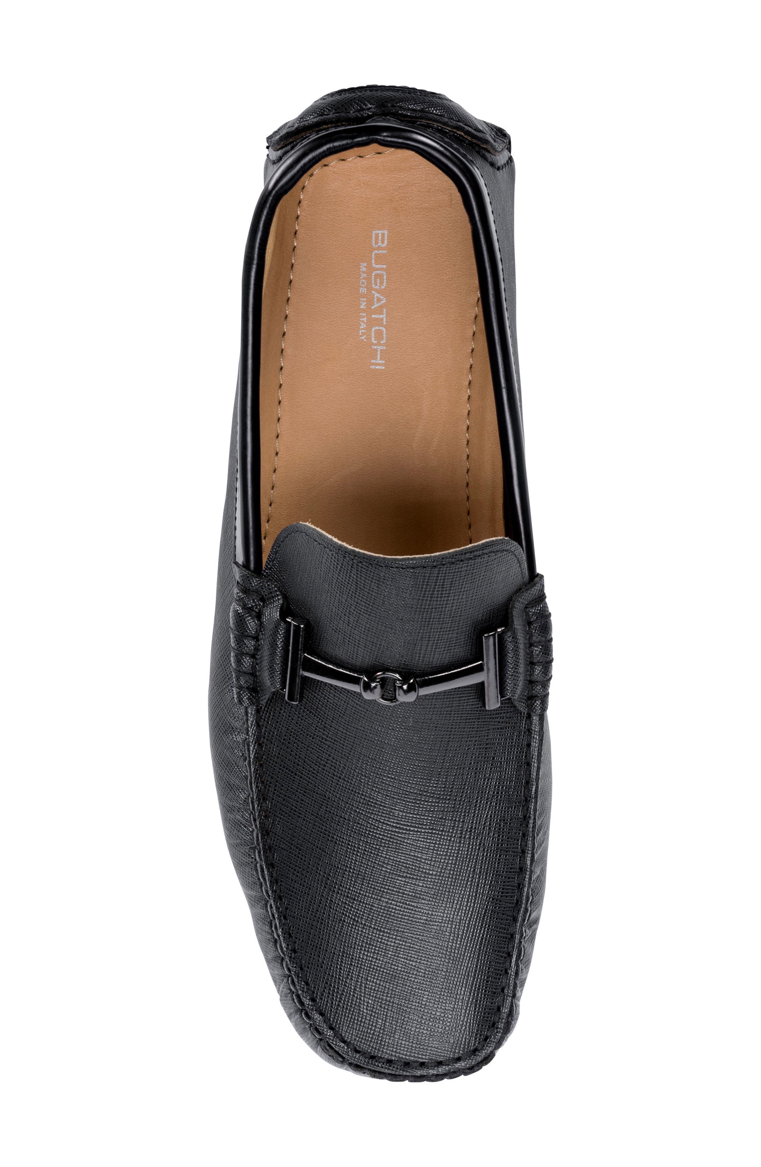 Capri Driving Shoe,                             Alternate thumbnail 5, color,                             Black