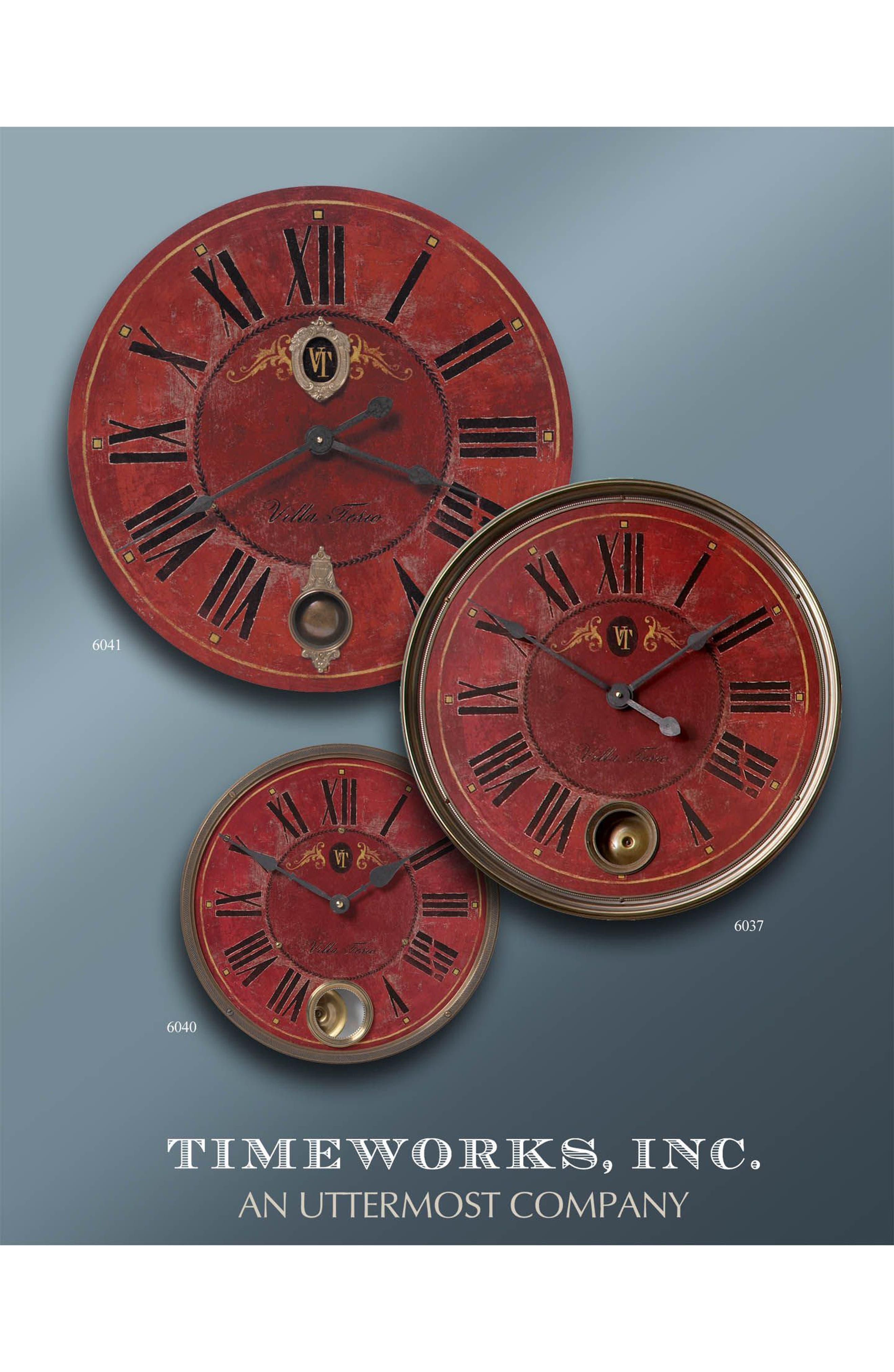 Alternate Image 2  - Uttermost Regency Villa Wall Clock