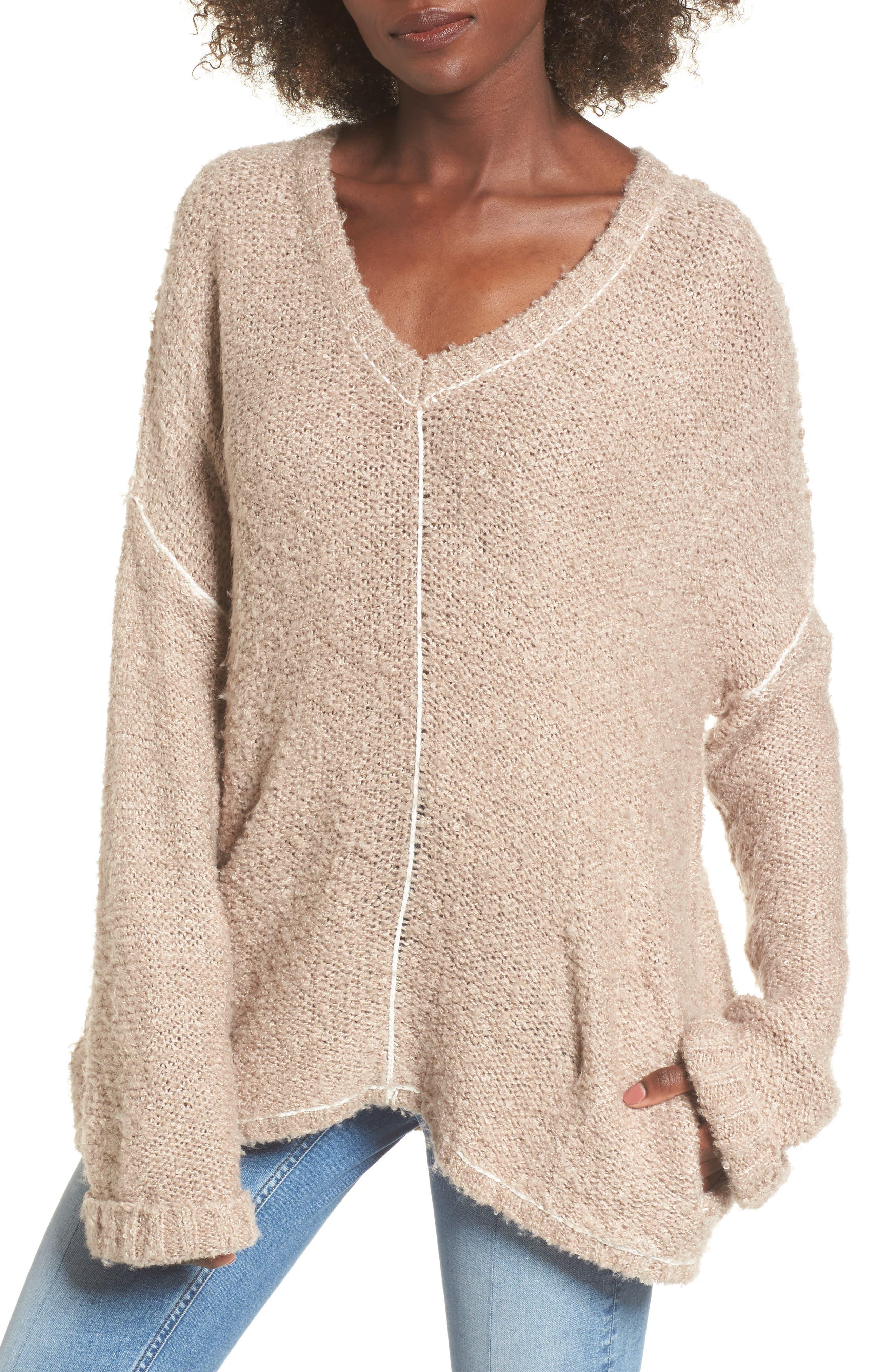 Voyage Knit Sweater,                         Main,                         color, Mocha