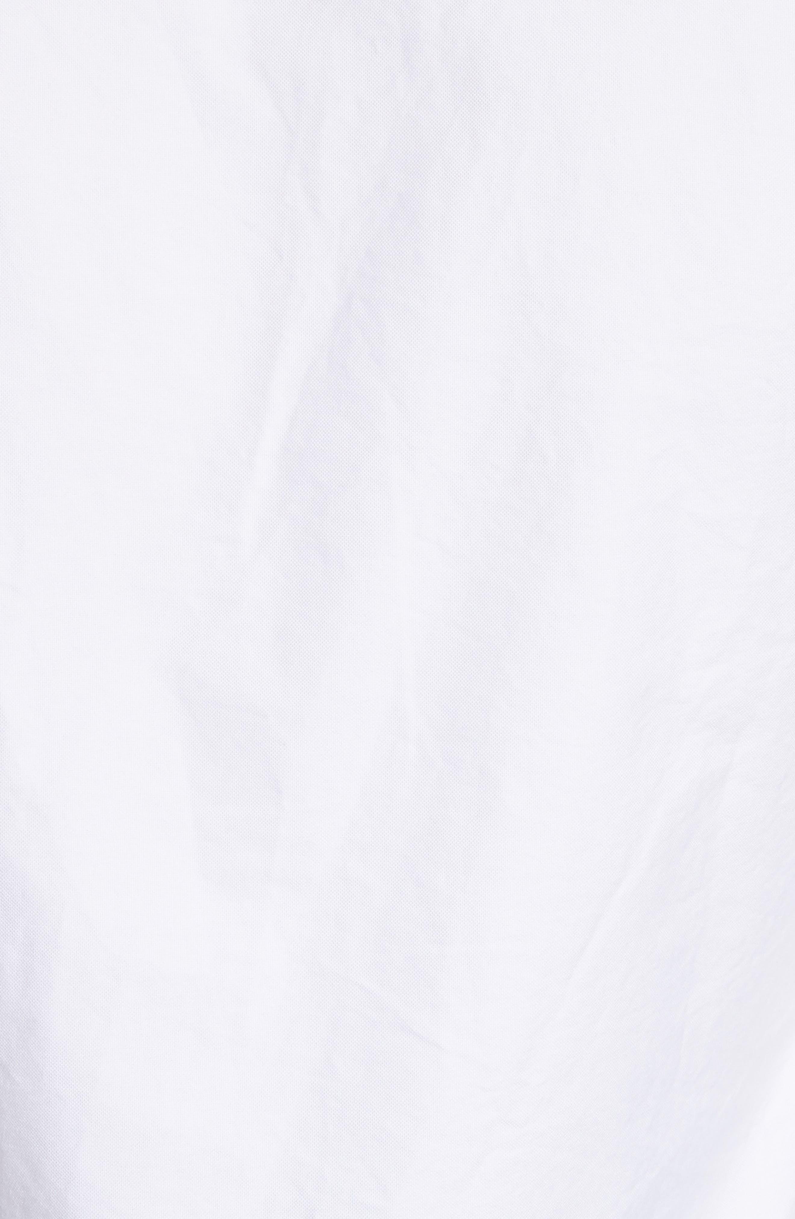 Oxford Shirt,                             Alternate thumbnail 5, color,                             White