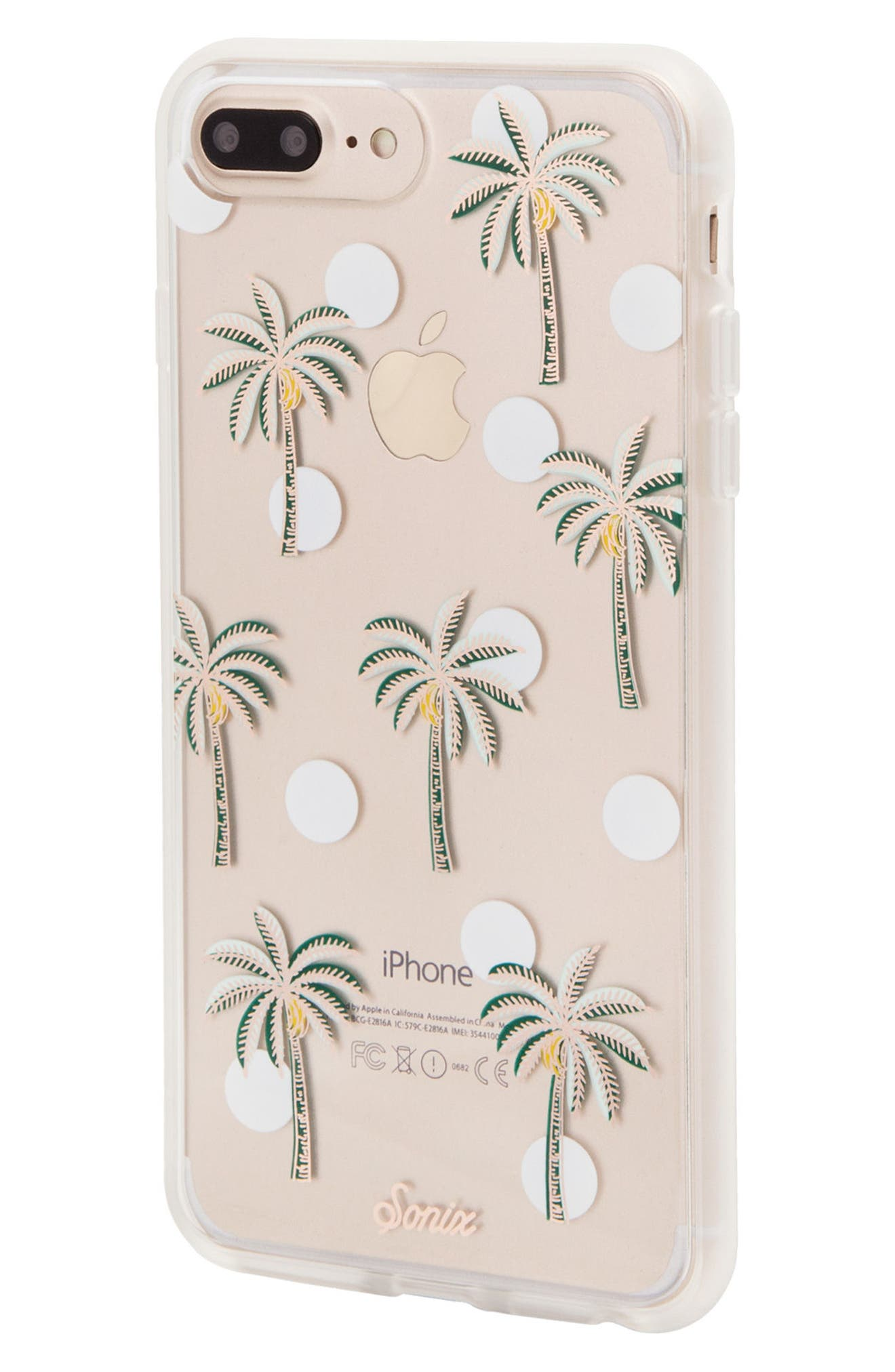 Bora Bora iPhone X Case,                             Alternate thumbnail 3, color,                             Green/ White